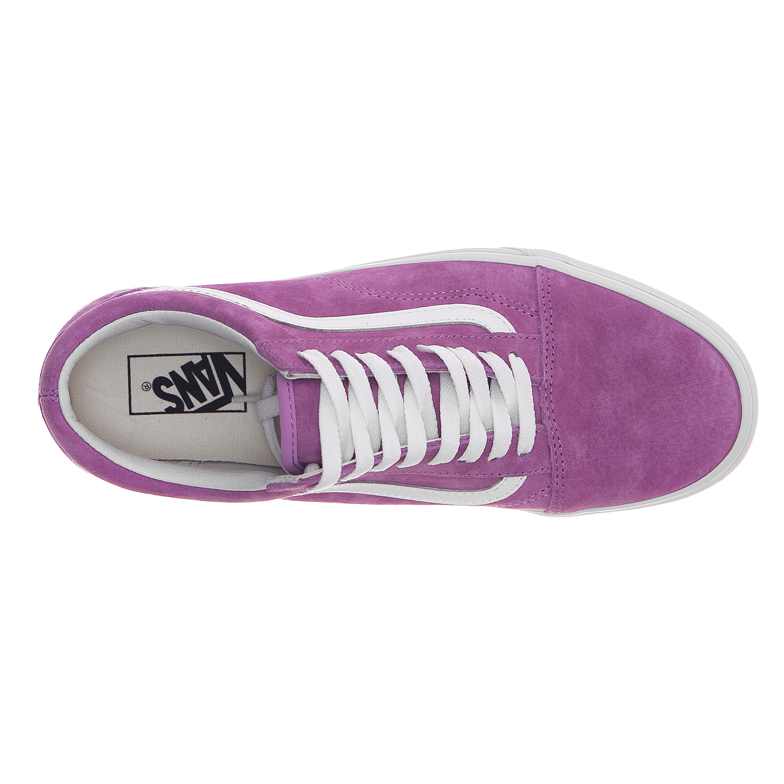 Vans Vans Vans scarpe da ginnastica Ua Old Skool (Pig Suede) viola Ttue bianca Viola | Nuovo Prodotto  7f8093