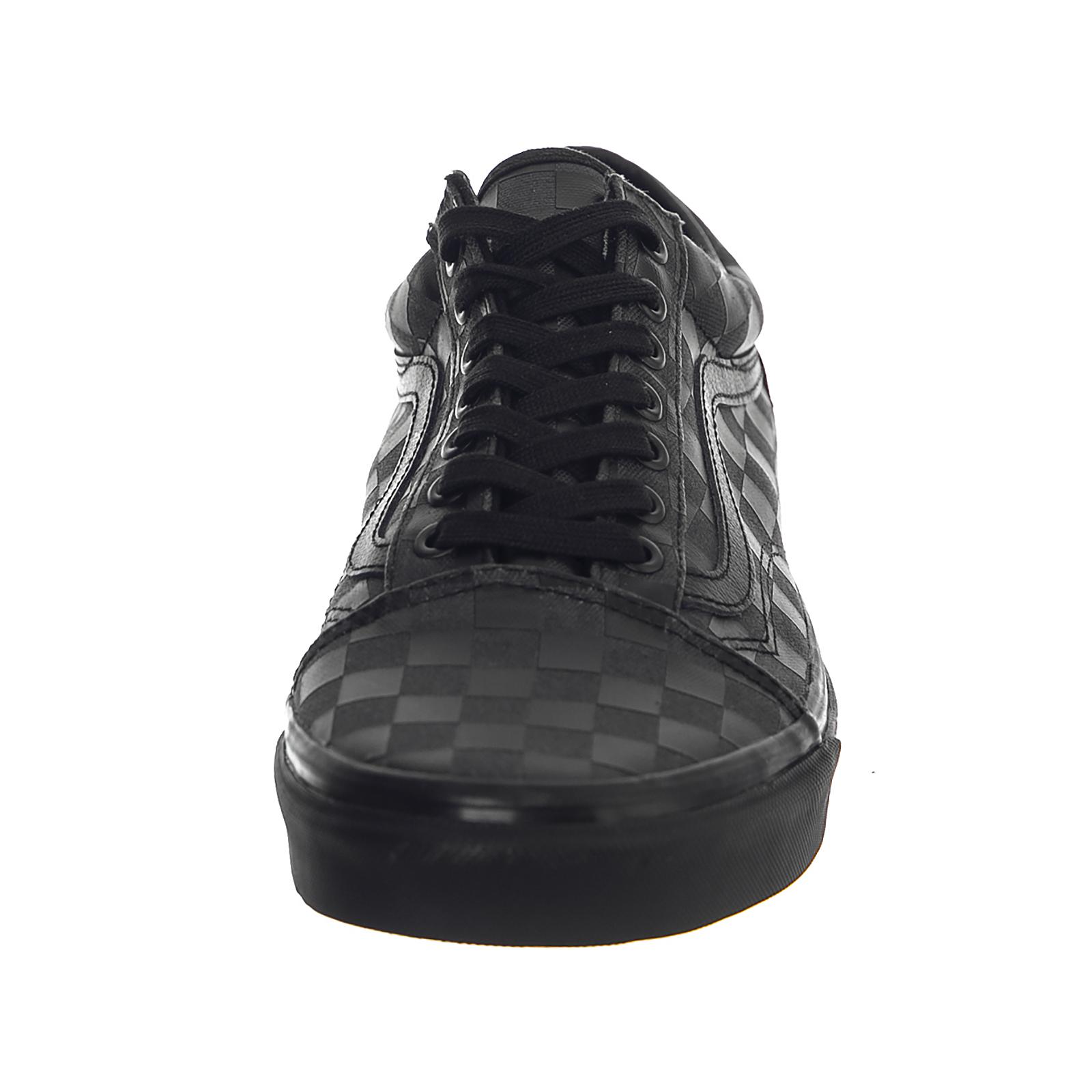 269ab291754e Vans Sneakers Ua Old Skool (High Density) Black Checkerboard Black ...