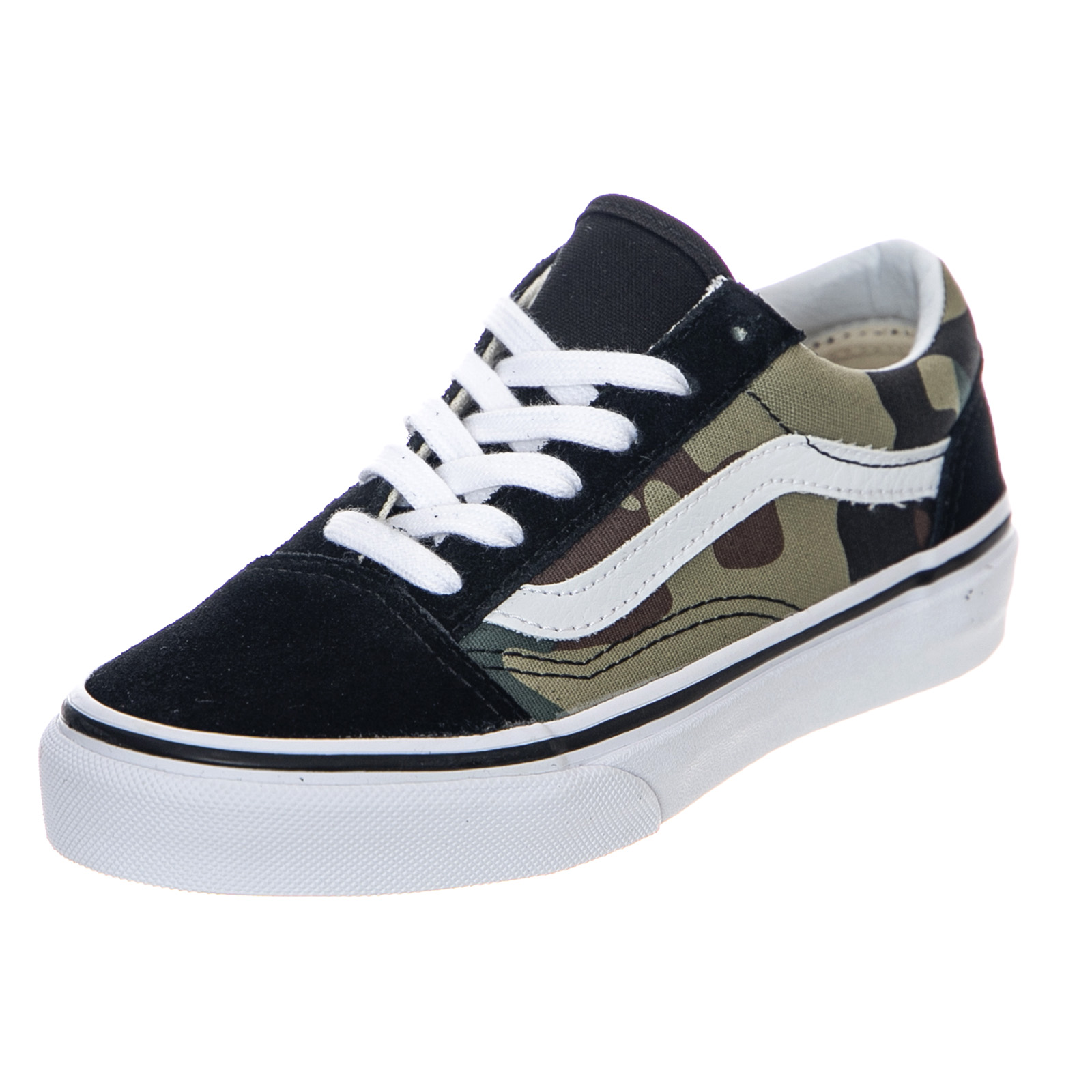 b1657ec6 Details about Vans Uy Old Skool - Woodland Camo - Sneakers Low Child Camo
