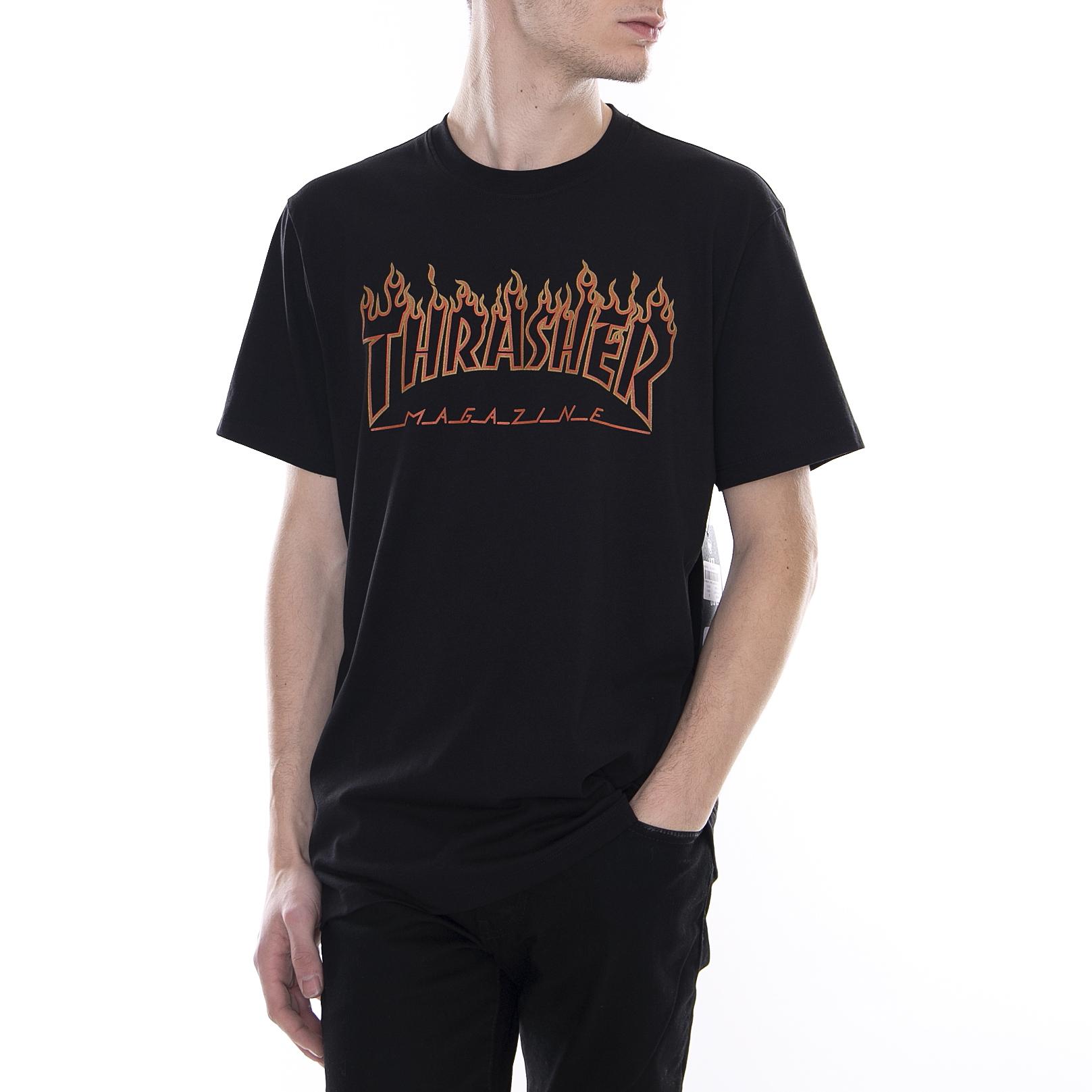 21c53ce439 Thrasher t-shirt 47 mvp splitter mens san francisco giants black nero