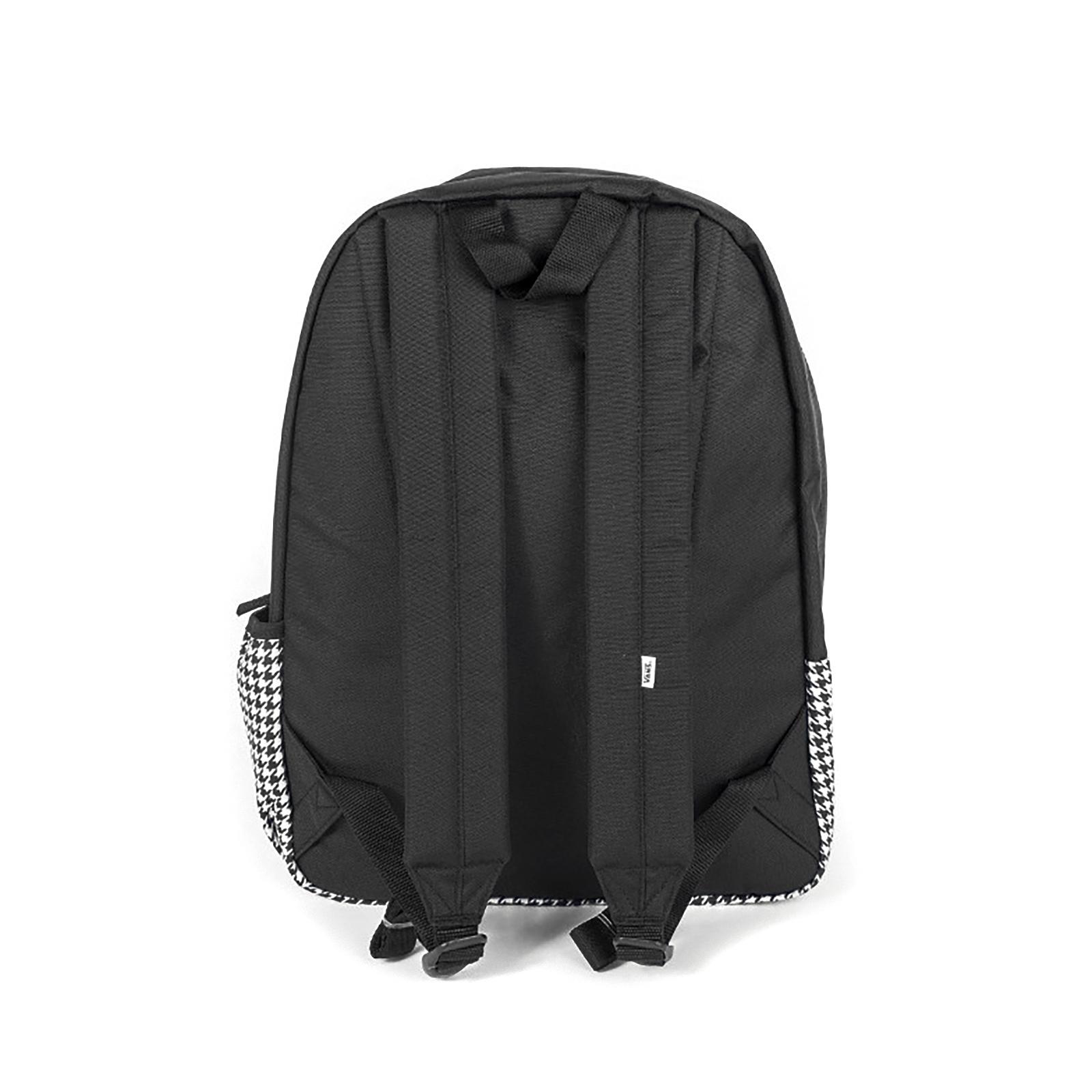 a0964e05d25e5 Vans Backpacks Wm Realm Flying V Sa Houndstooth Black