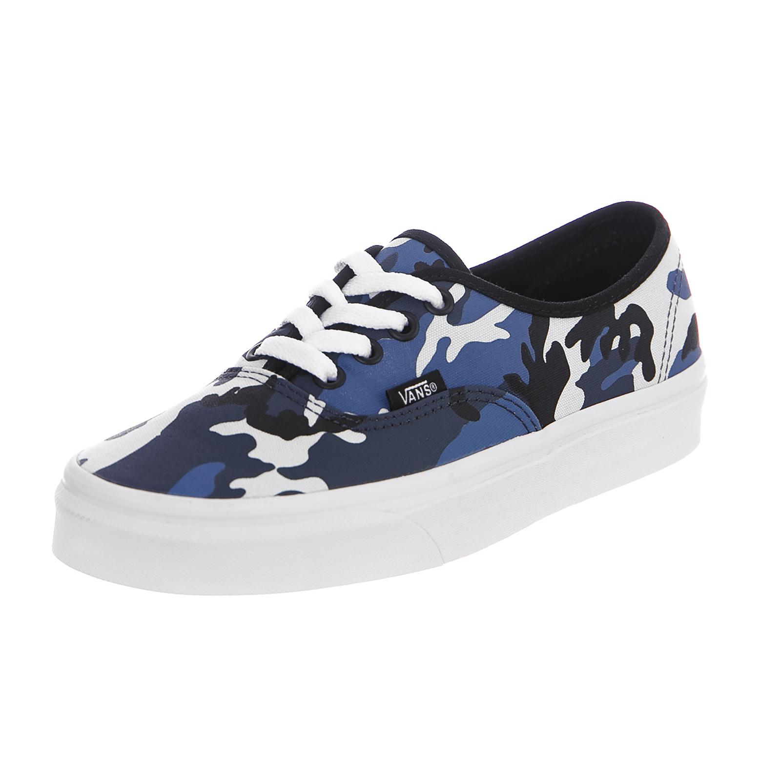 9f318c5844cd9b Vans Sneakers U Authentic (Pop Camo) Black Dress Blues True White Nero
