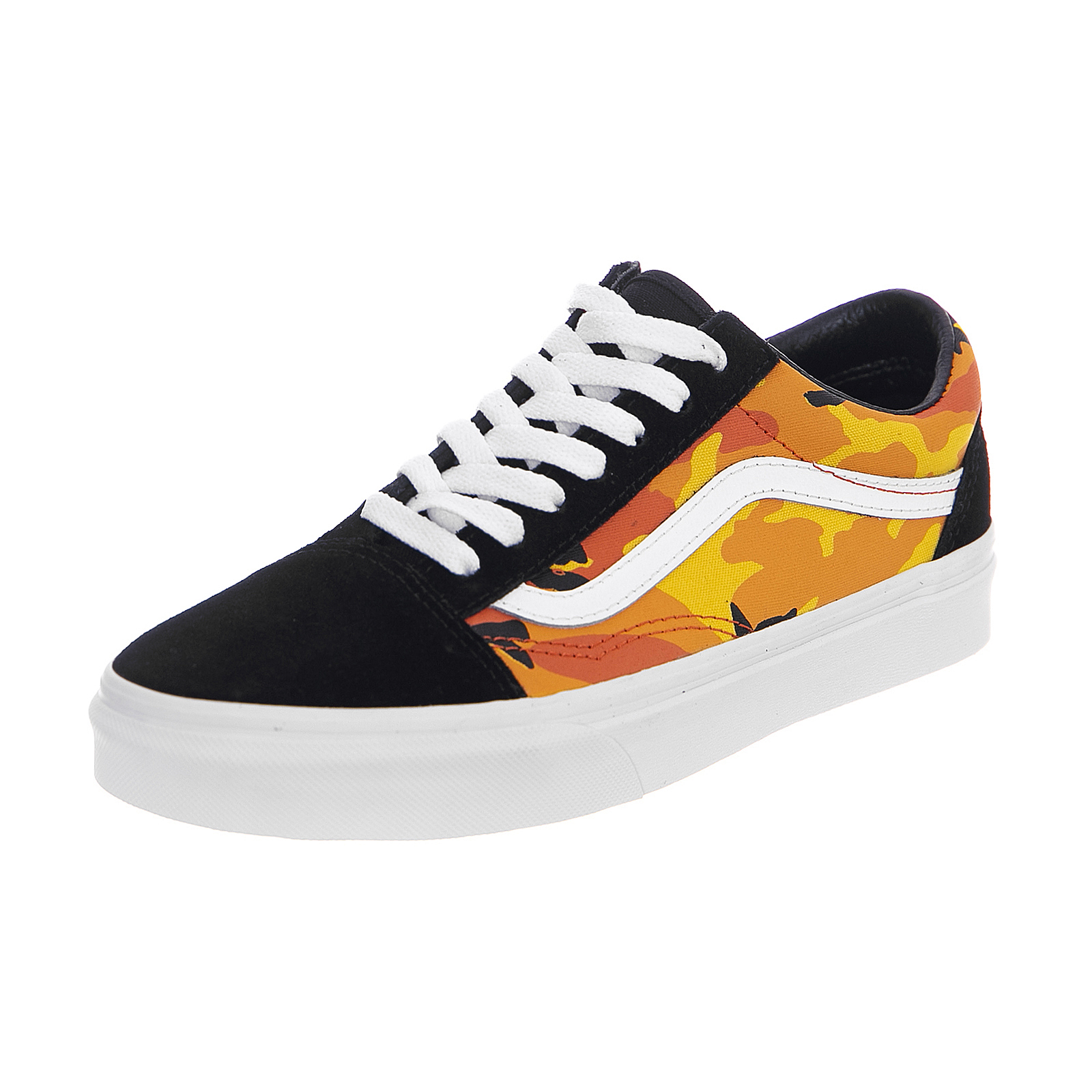 Vans Sneakers Ua Old Skool (Pop Camo) Black Spicy Orange True White ... 8fbc3ddf0