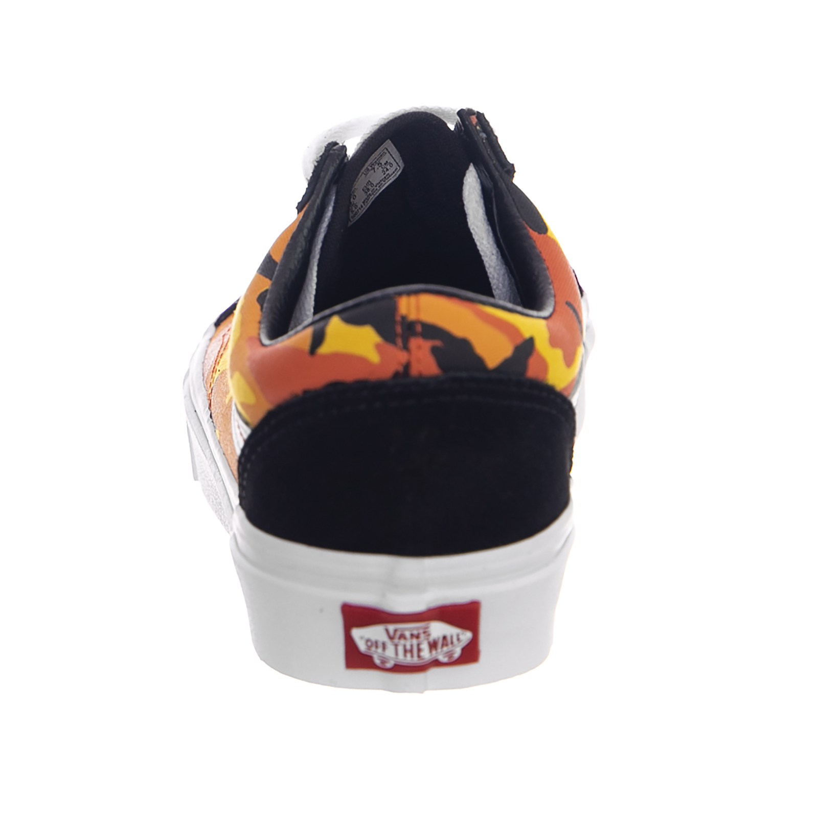 3062d2e7f6 Vans Sneakers Ua Old Skool (Pop Camo) Black Spicy Orange True White Nero 4  4 di 6 ...