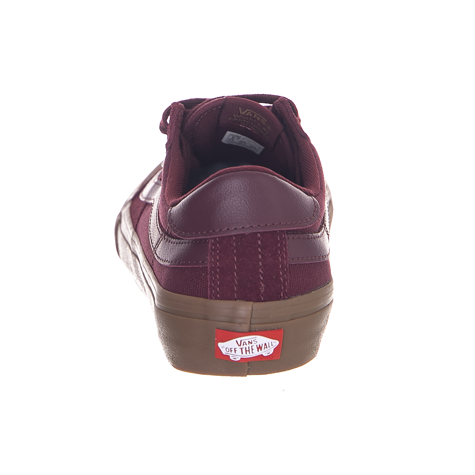Burgundy 112 Style Sneakers Royal Vans Pro Port camouflage Gum PUBwzWqn