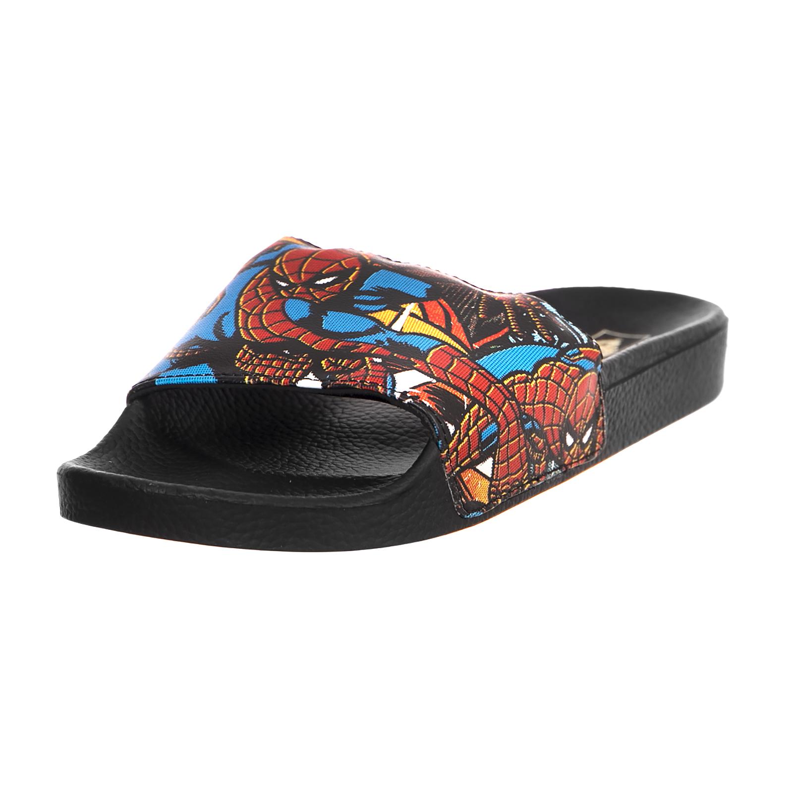 Sandali e scarpe per il mare da uomo Vans Sandali Slide-On Mn Slide-On Sandali (Marvel) Spi Nero b62980