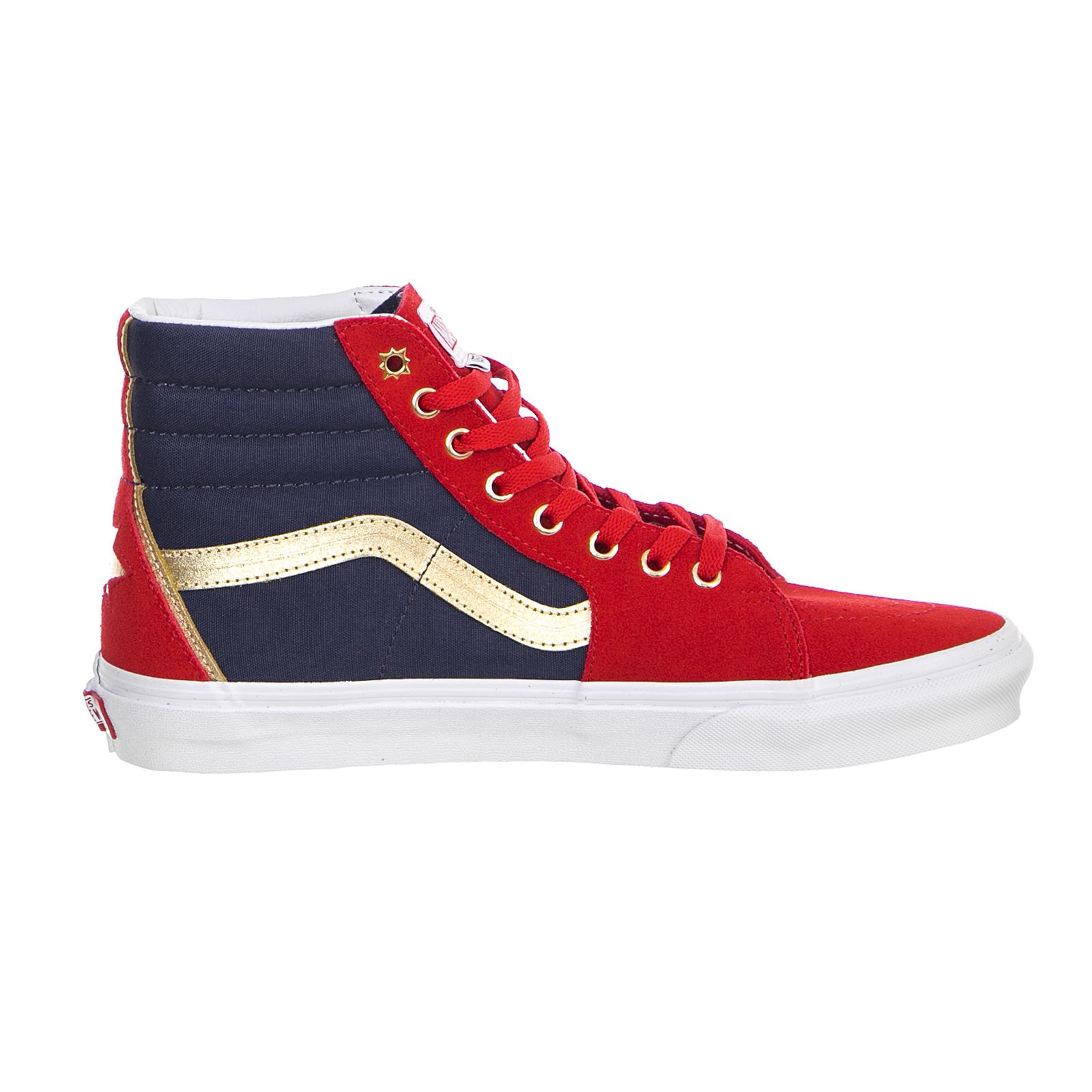 a034c8f7807 Vans Sneakers Ua Sk8-Hi (Marvel) Cap Rosso 2 2 di 6 ...
