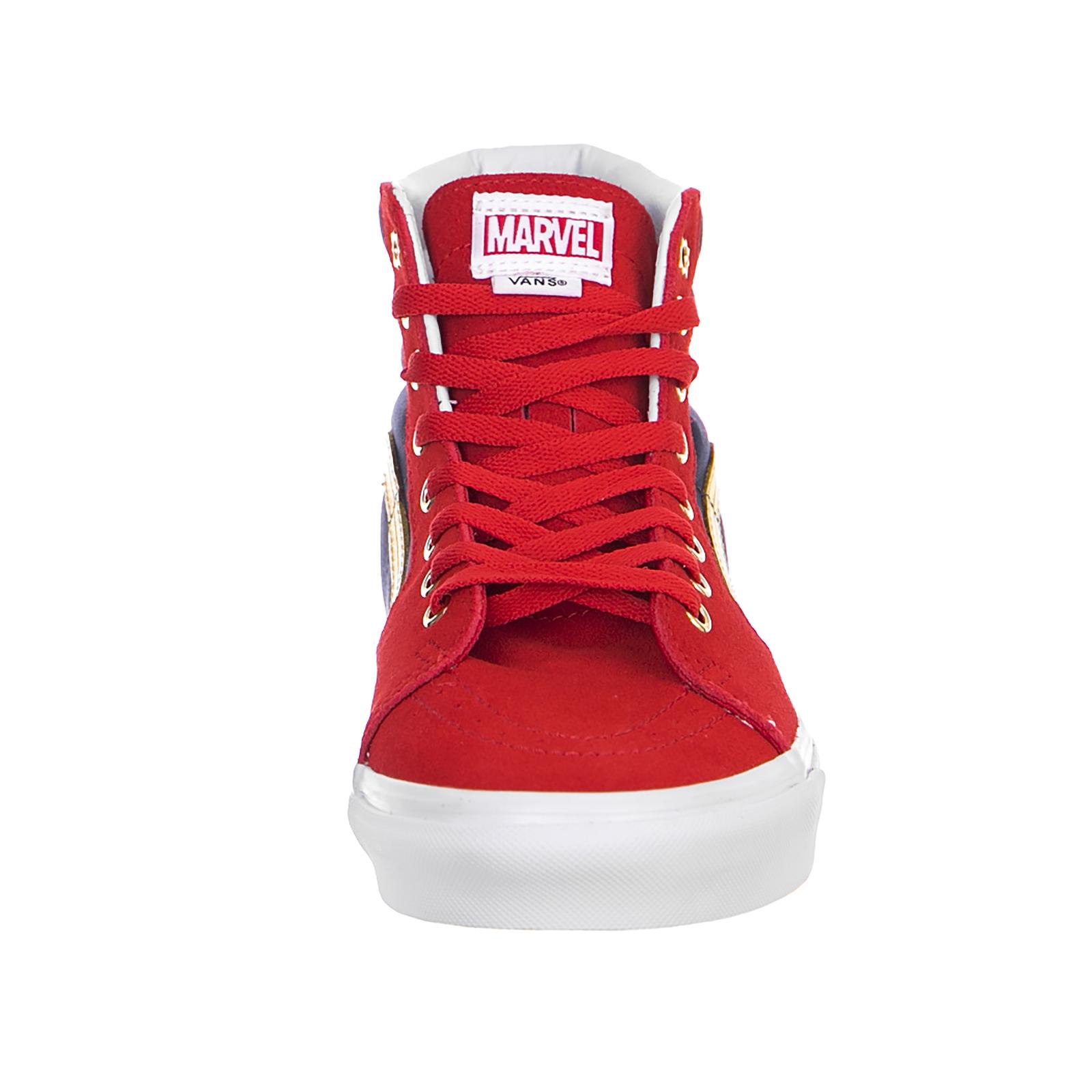 ea90c6d32a9 Vans Sneakers Ua Sk8-Hi (Marvel) Cap Rosso 3 3 di 6 ...