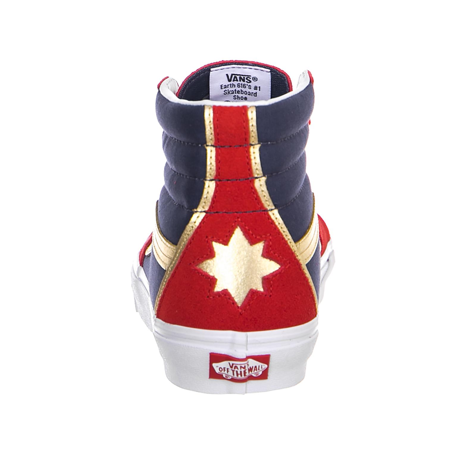 2388e2ba318 Vans Sneakers Ua Sk8-Hi (Marvel) Cap Rosso 4 4 di 6 ...