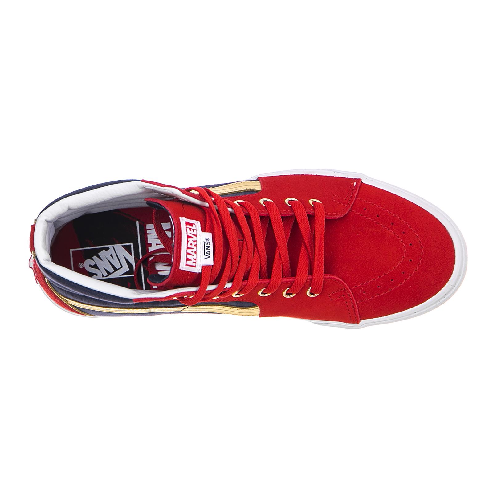7f33f440e1c Vans Sneakers Ua Sk8-Hi (Marvel) Cap Rosso 6 6 di 6 Vedi Altro