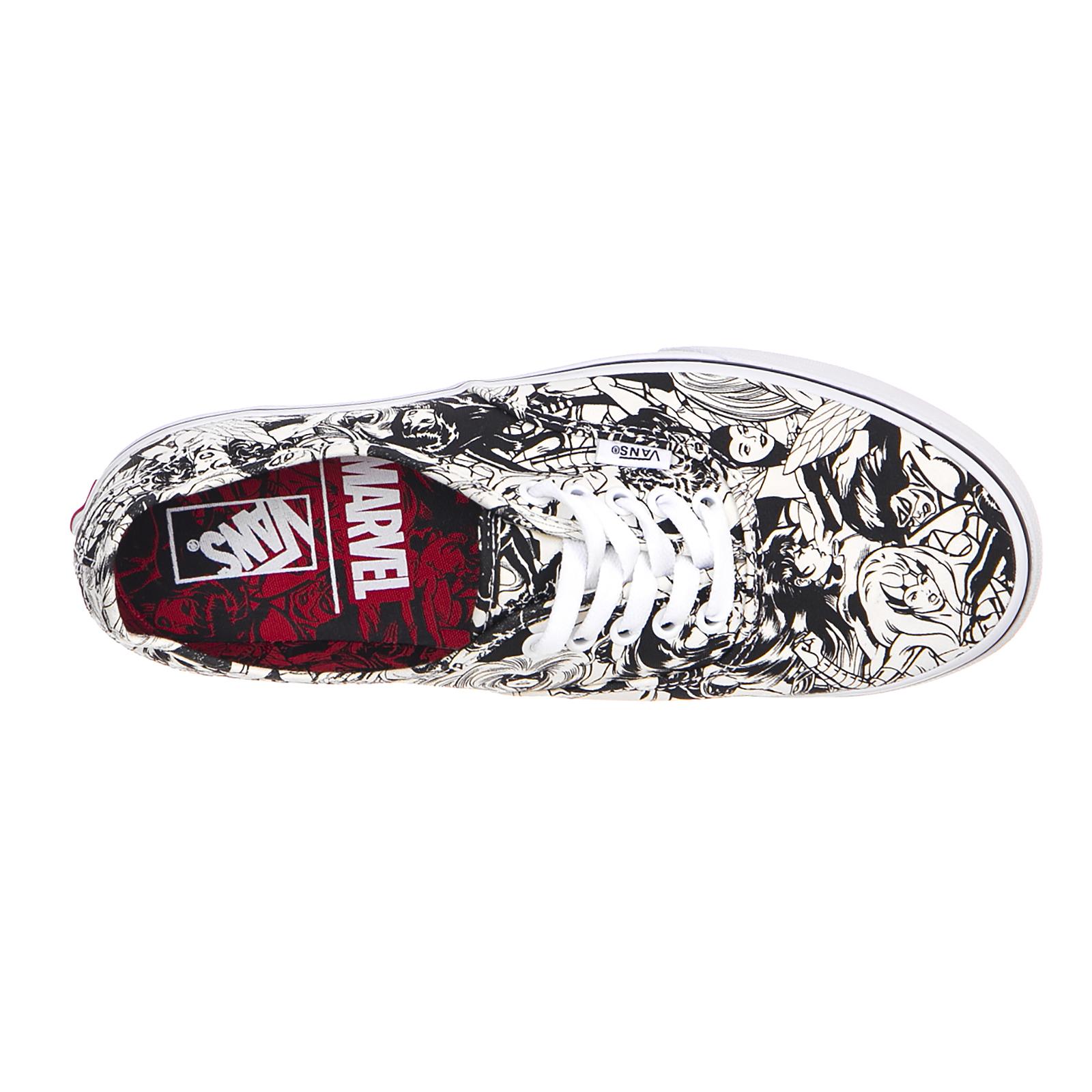 B0f026 Vans Ua Baratotravel AuthenticmarvelMul Bianco es Sneakers stQrdh