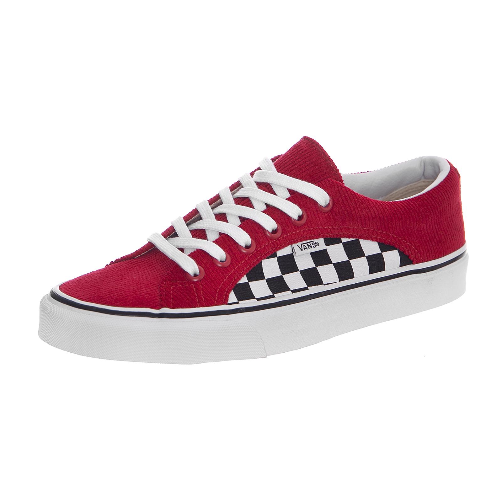 db64ddc816 Vans Sneakers Ua Lampin (Checker Cord) - Red True White Chekerboard ...