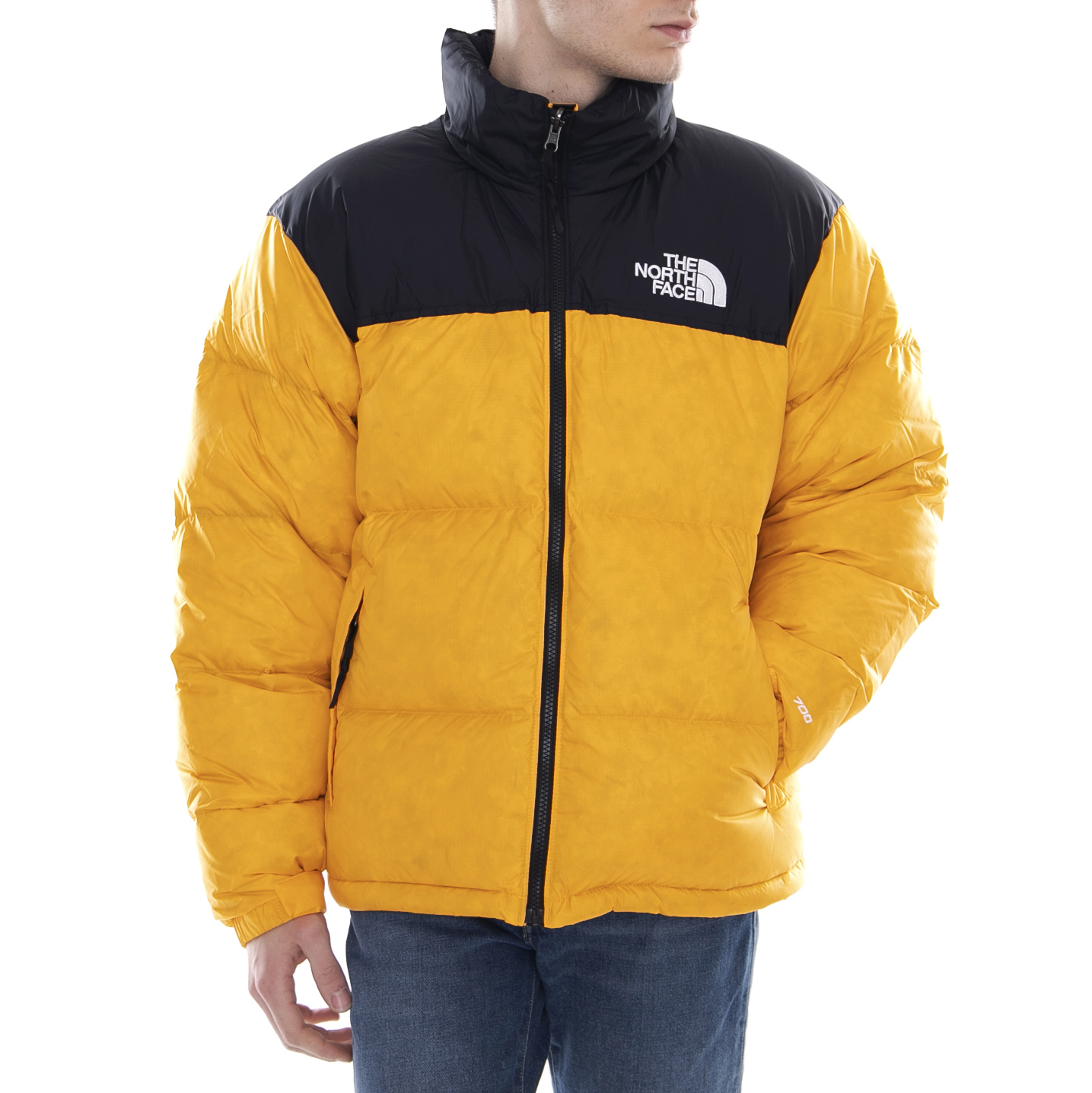 The north face jacket m 1996 rto nuptse jacket zinnia orange orange ... a6fcf89b4