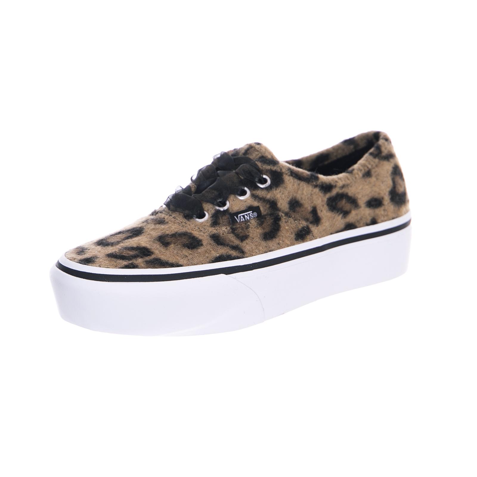 a4ae5f5af5 Vans sneakers authentic platform 2.0 (fuzzy) leopard true white multicolor