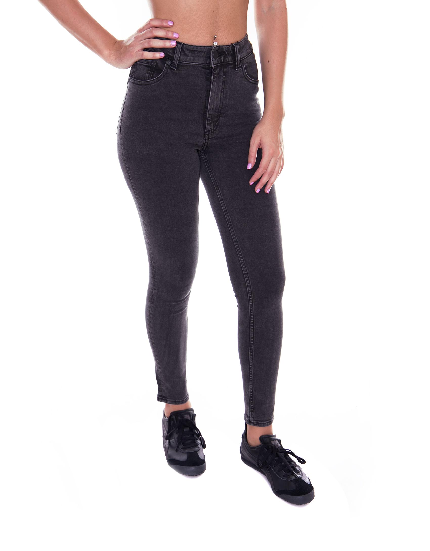 Cheap Monday Pantaloni High Skin Element Grey  grey