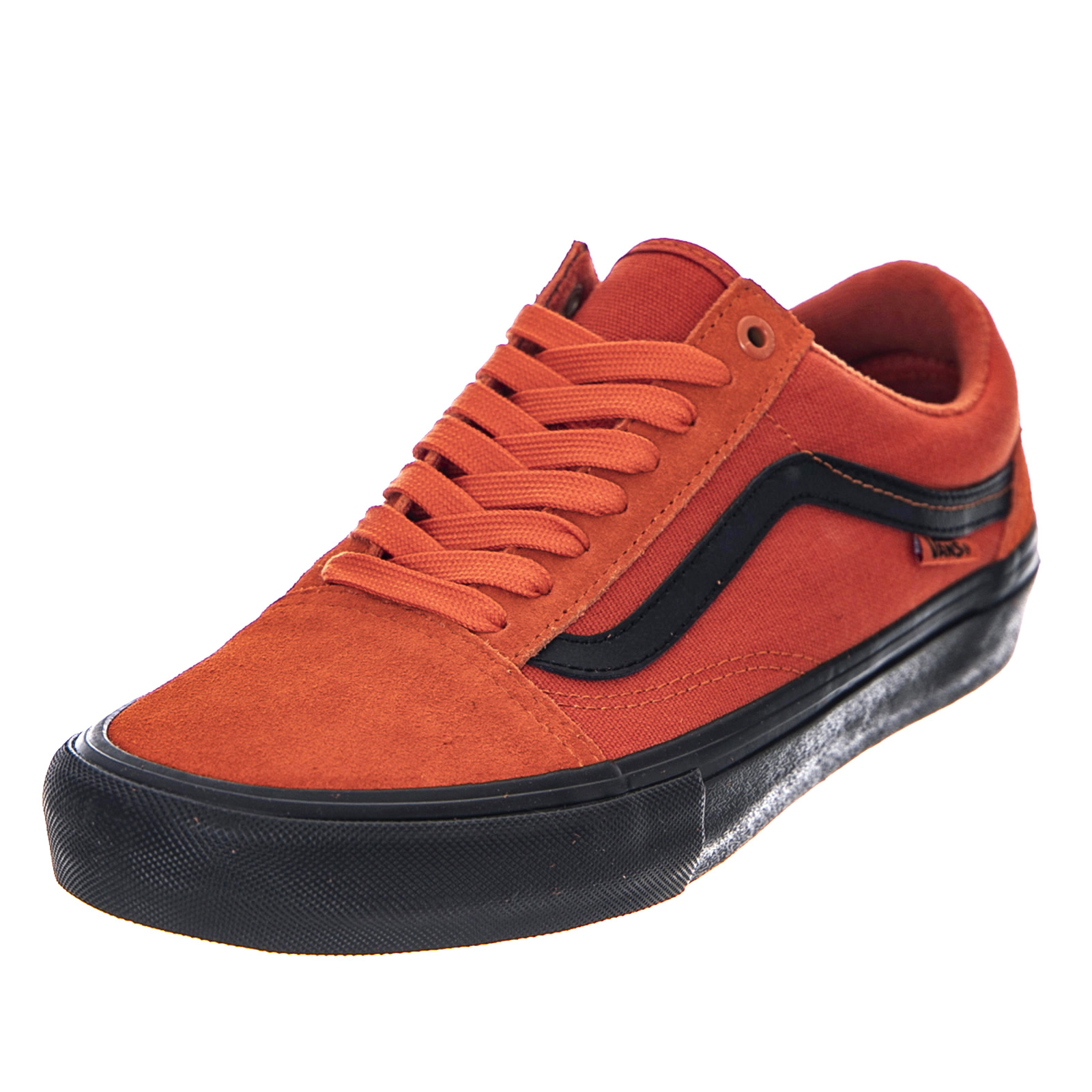 Details zu Vans Mn Old Skool pro - Koi / Black - Turnschuhe Niedrig Herren Orange