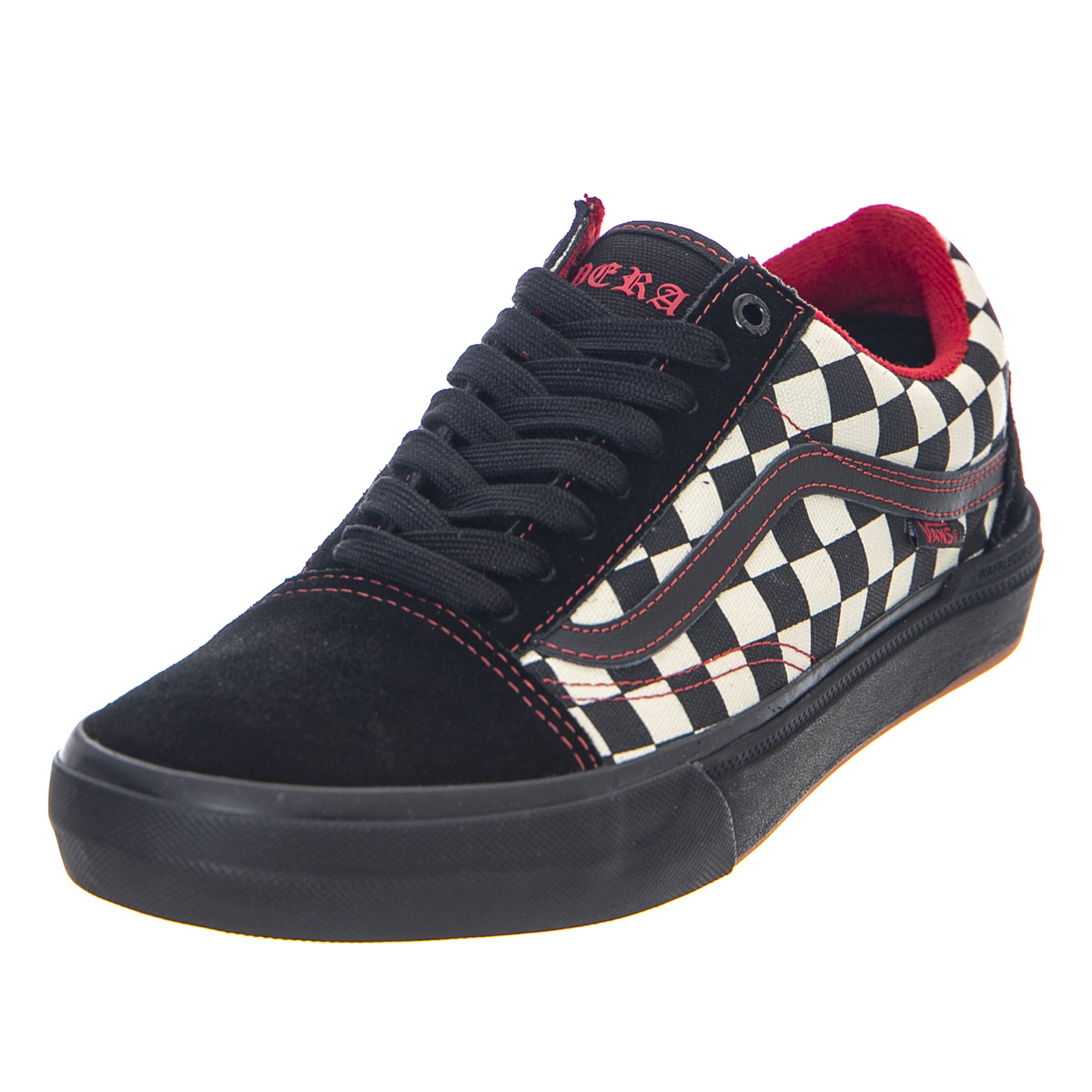 Details about Vans Mn Old Skool pro BMX - Checkerboard/Black/White - Sneakers Low Black Mens