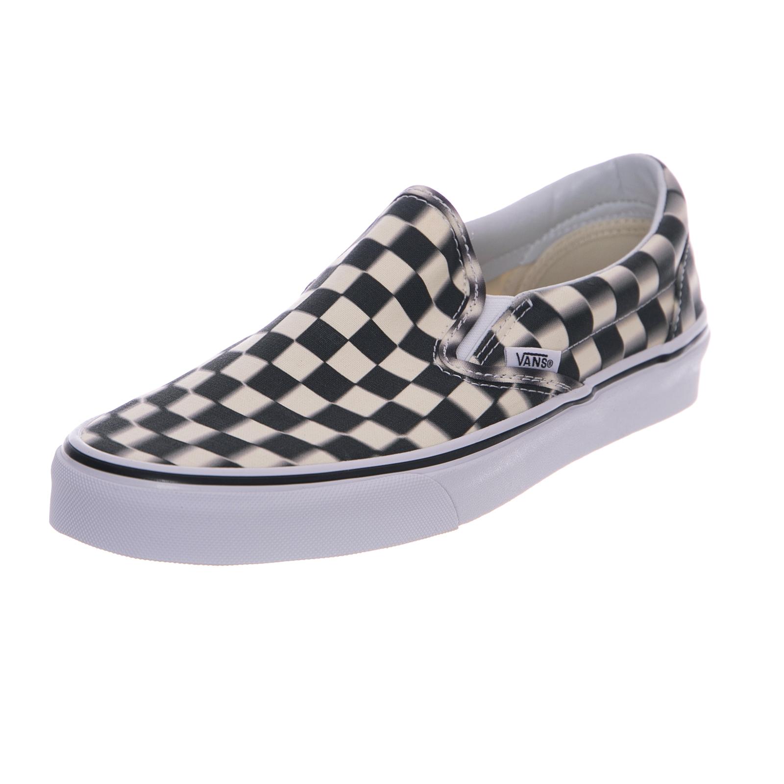 Vans zapatillas ua classic slip-on azulr check negro classic blancoo negro
