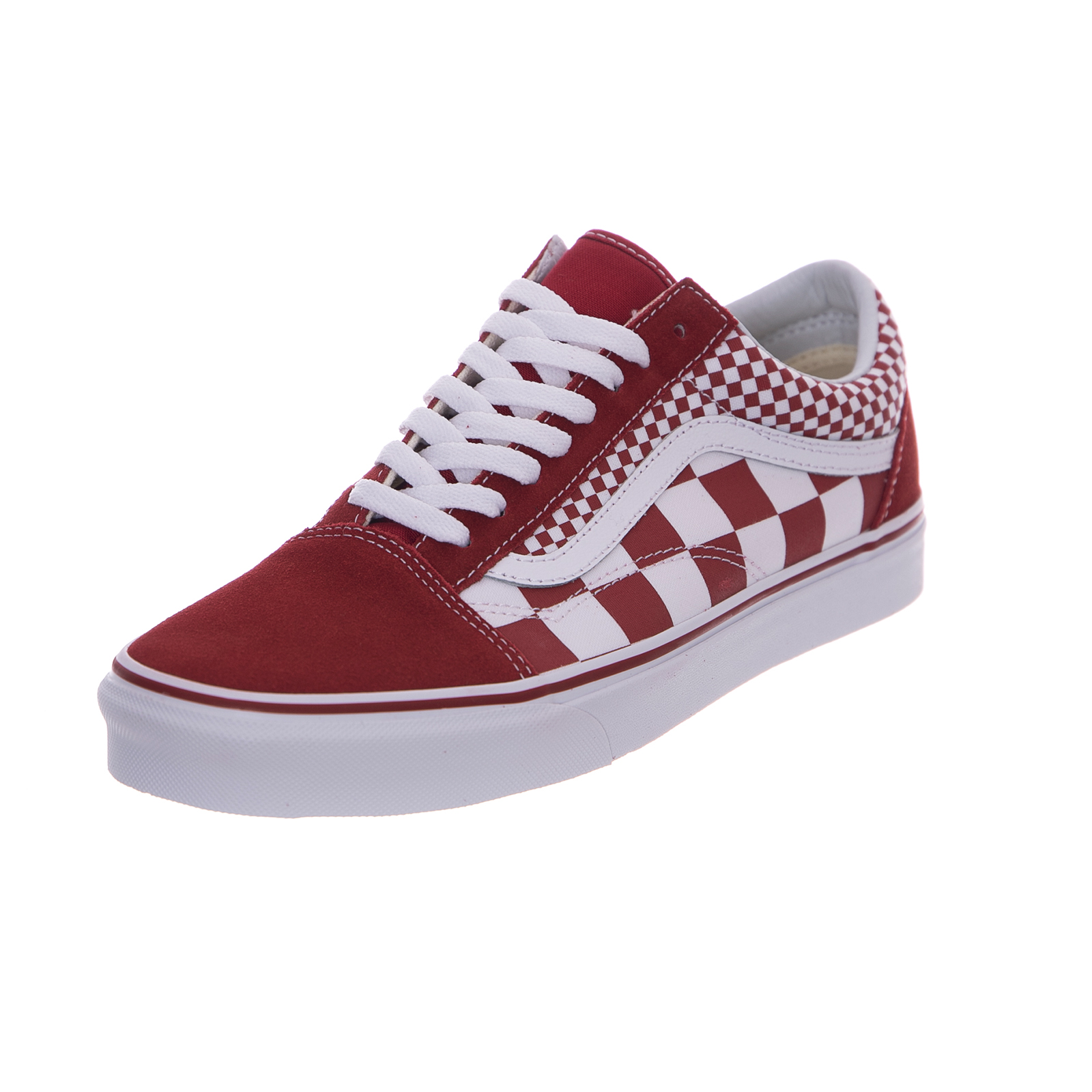 562ac0c919a Vans sneakers ua old skool mix checker chili pepper true white red ...