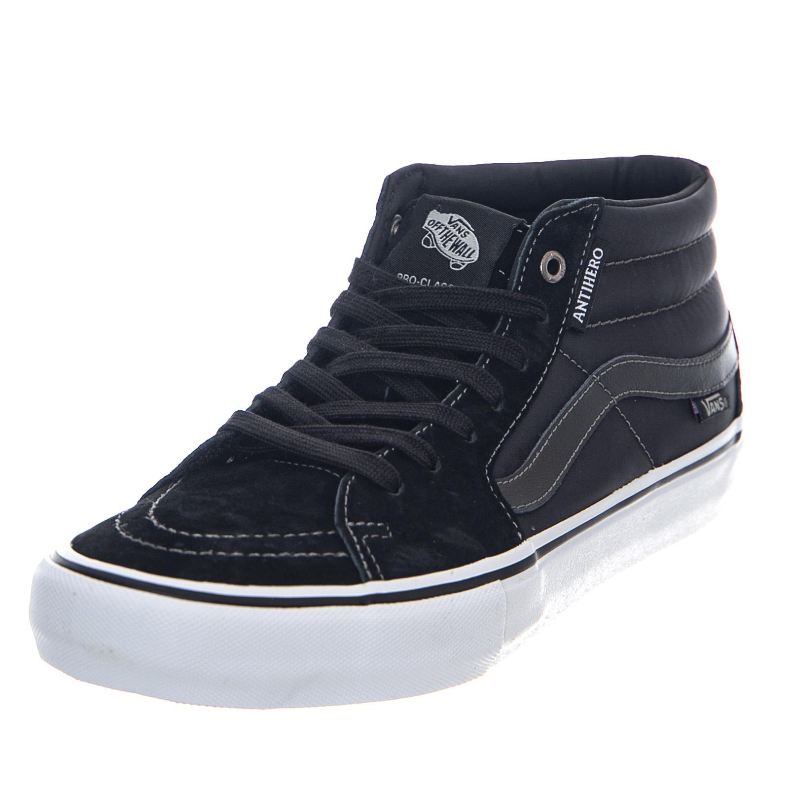 7873f6aff79717 Vans Mn vans X Antihero Sk8-Mid Pro - Large Black - High Sneakers ...