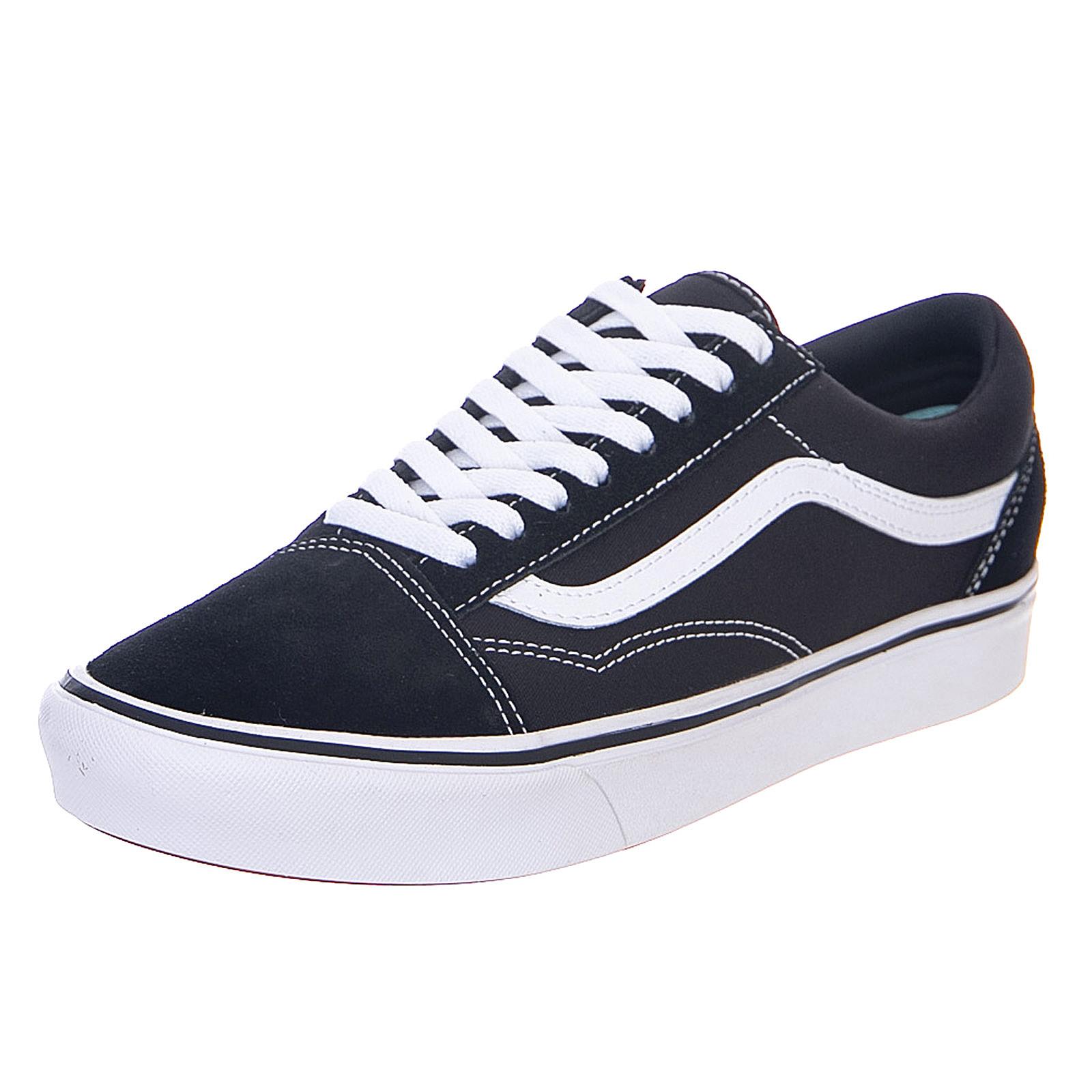 Détails sur Vans Comfy Cush Old Skool - Black/True White - Sneakers  Stringate Uomo Nero