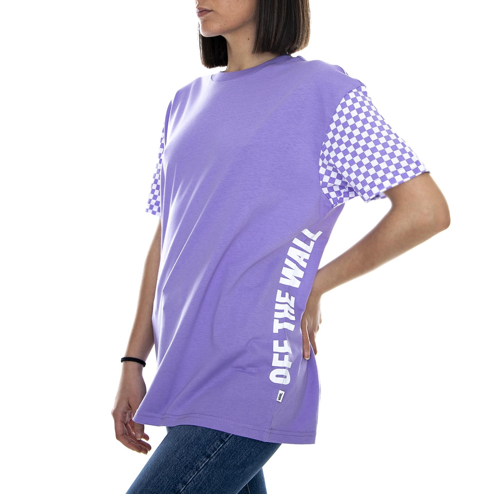 Maglietta Central Violet Vans Emea Girocollo Wm ViolaEbay Donna srxtCQdohB