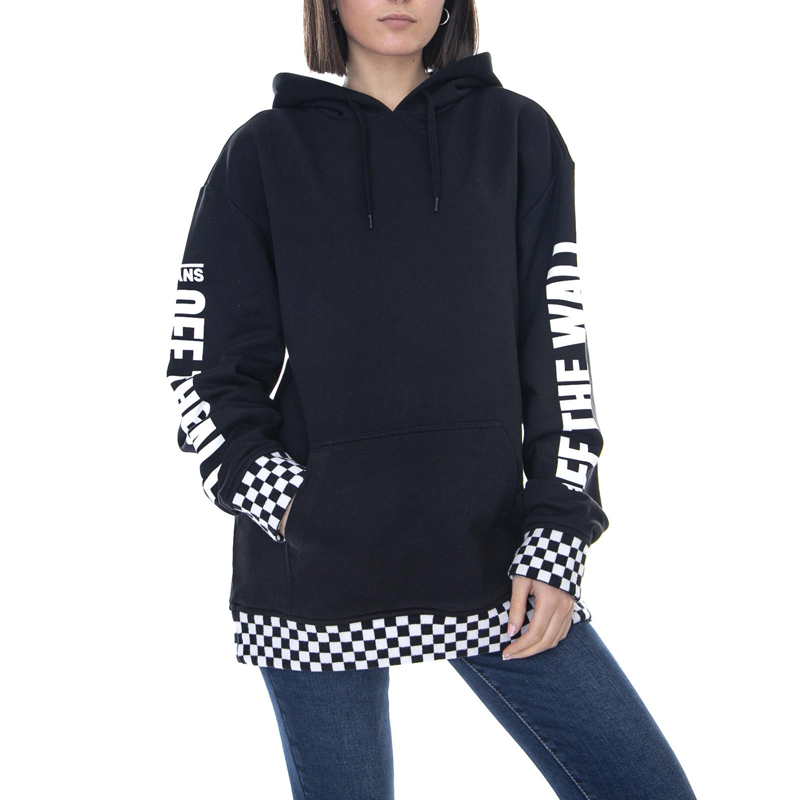 595f5acb Details about Vans WM Emea Central - Black - Hoodie Women Black