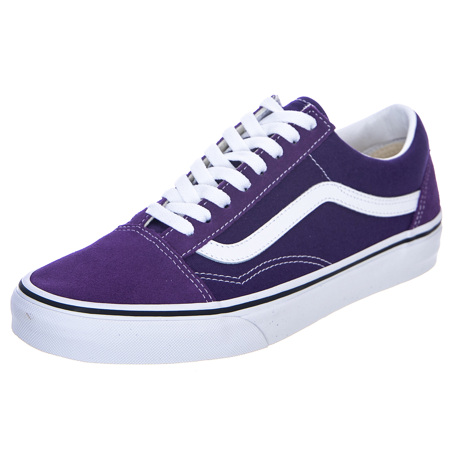 Dettagli su Vans Ua Old Skool Violet Indigo Sneakers Basse Uomo Viola