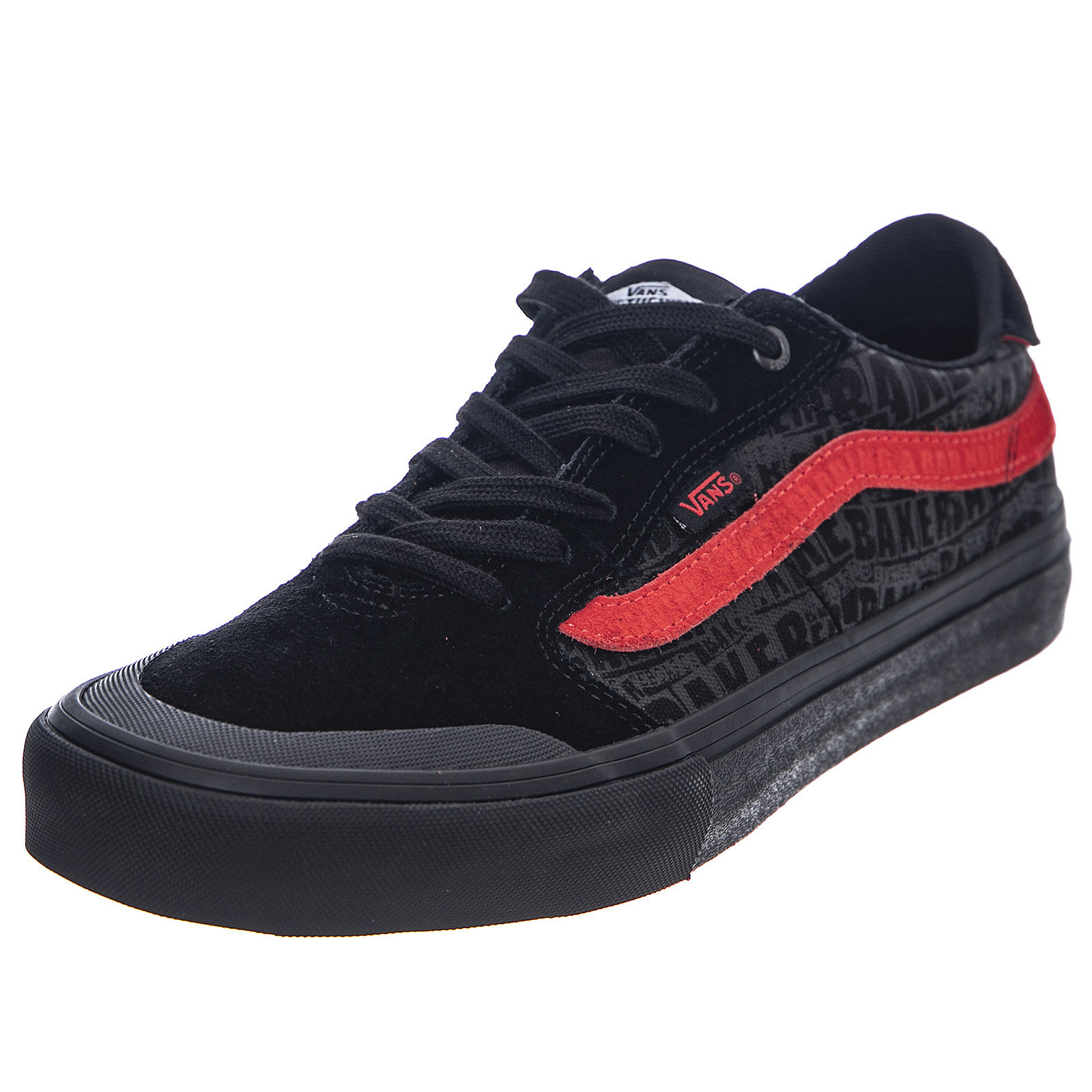 Détails sur Vans Mn Vans X Baker Style 112 Pro BlackRed Sneakers Basse Uomo Nero