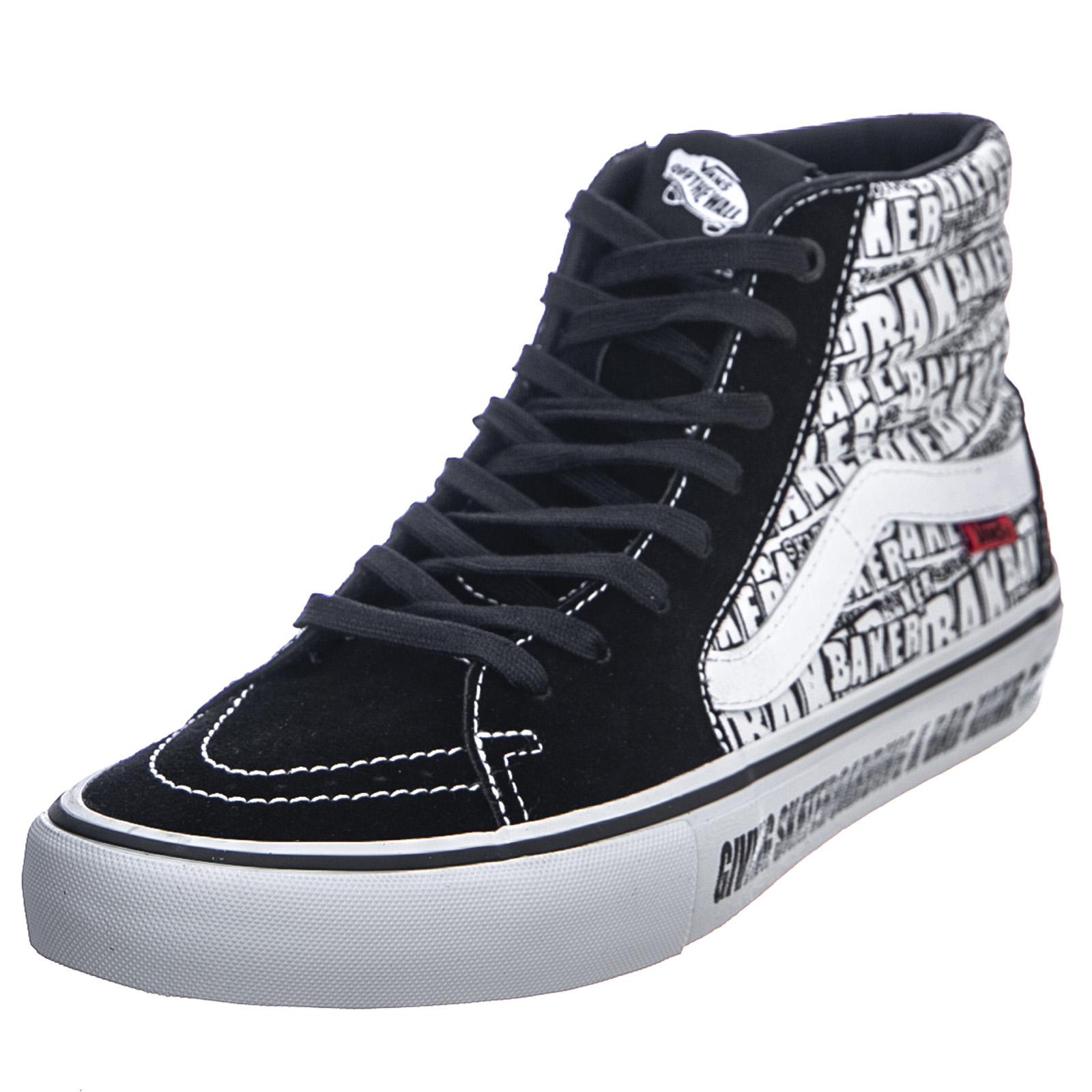 Vans Scarpe SK8 Hi Reissue Classic Tumble BlackTrue White, UomoDonna Bianco|Nero Sneakers alte