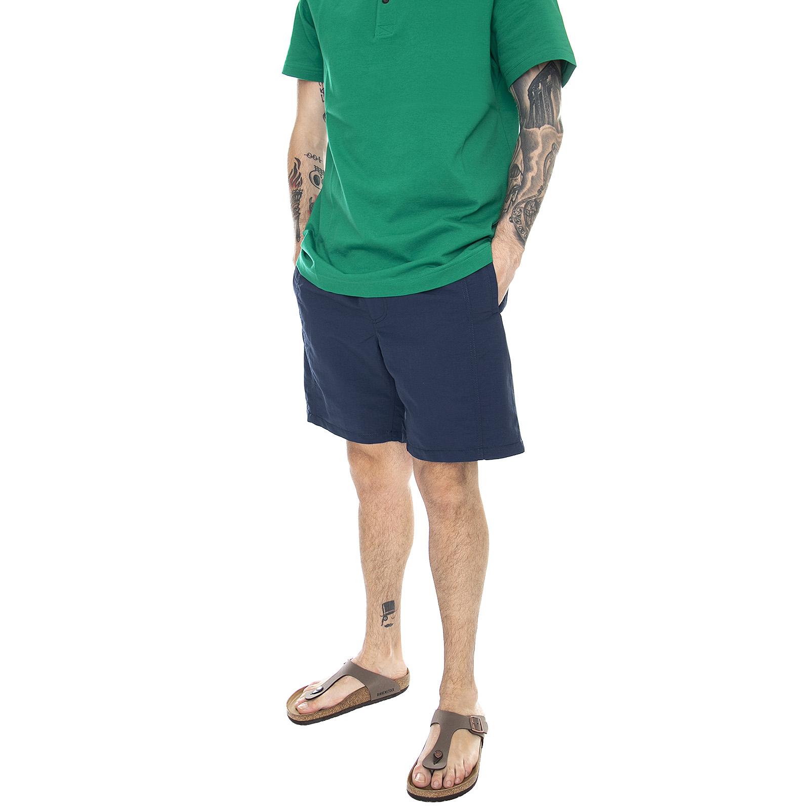 Vans vans x pilgrim surf supply shorts - dress blues - bermuda ...