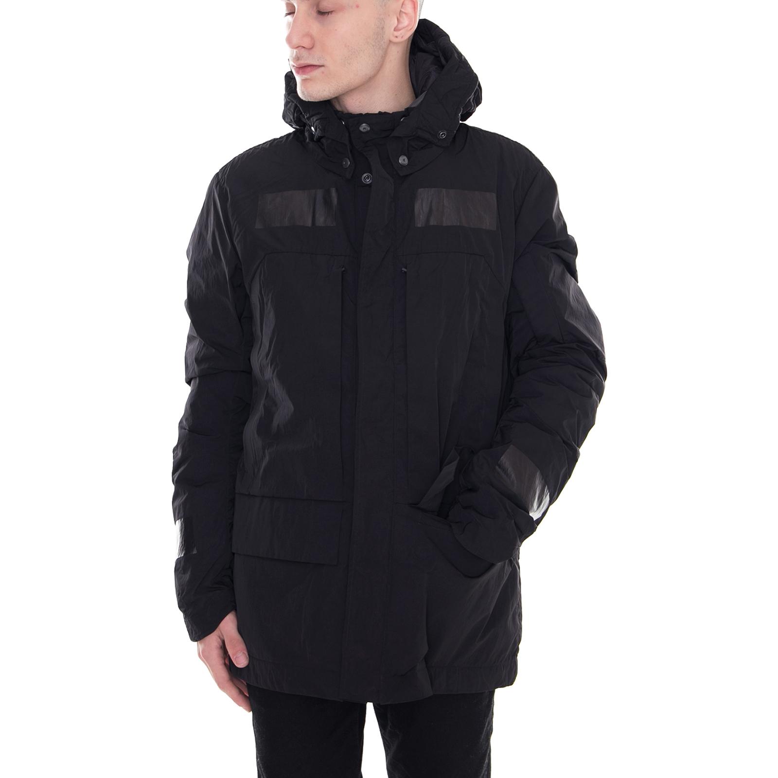 più amato e8de3 e5f20 Dettagli su Krakatau Giacche Liner Field Jacket Black Nero