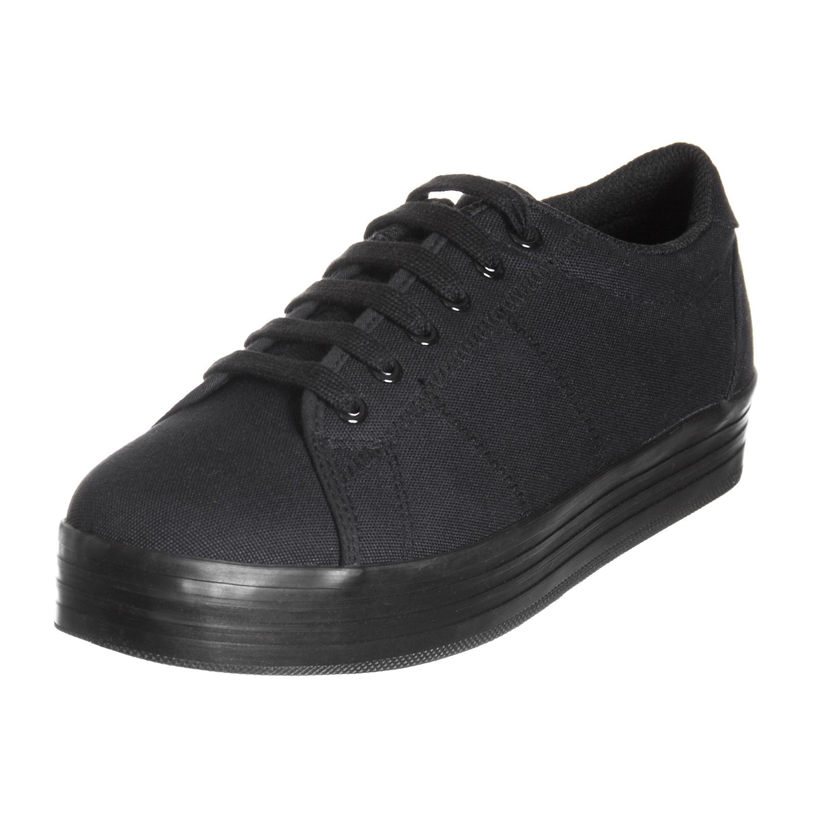 Jeffrey Campbell Sneakers Uomo Zomg Canvas Black Black