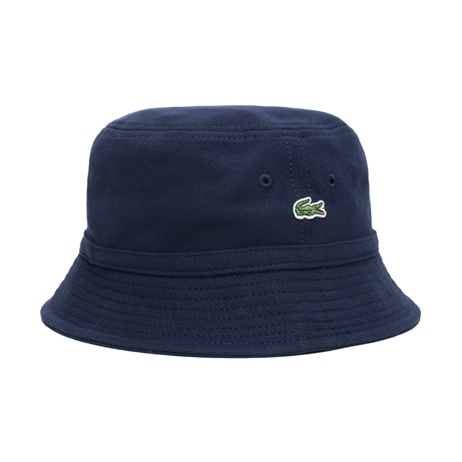e093609a Lacoste Logo Bucket Hat - Blue - Cappello D Pescatore Blue
