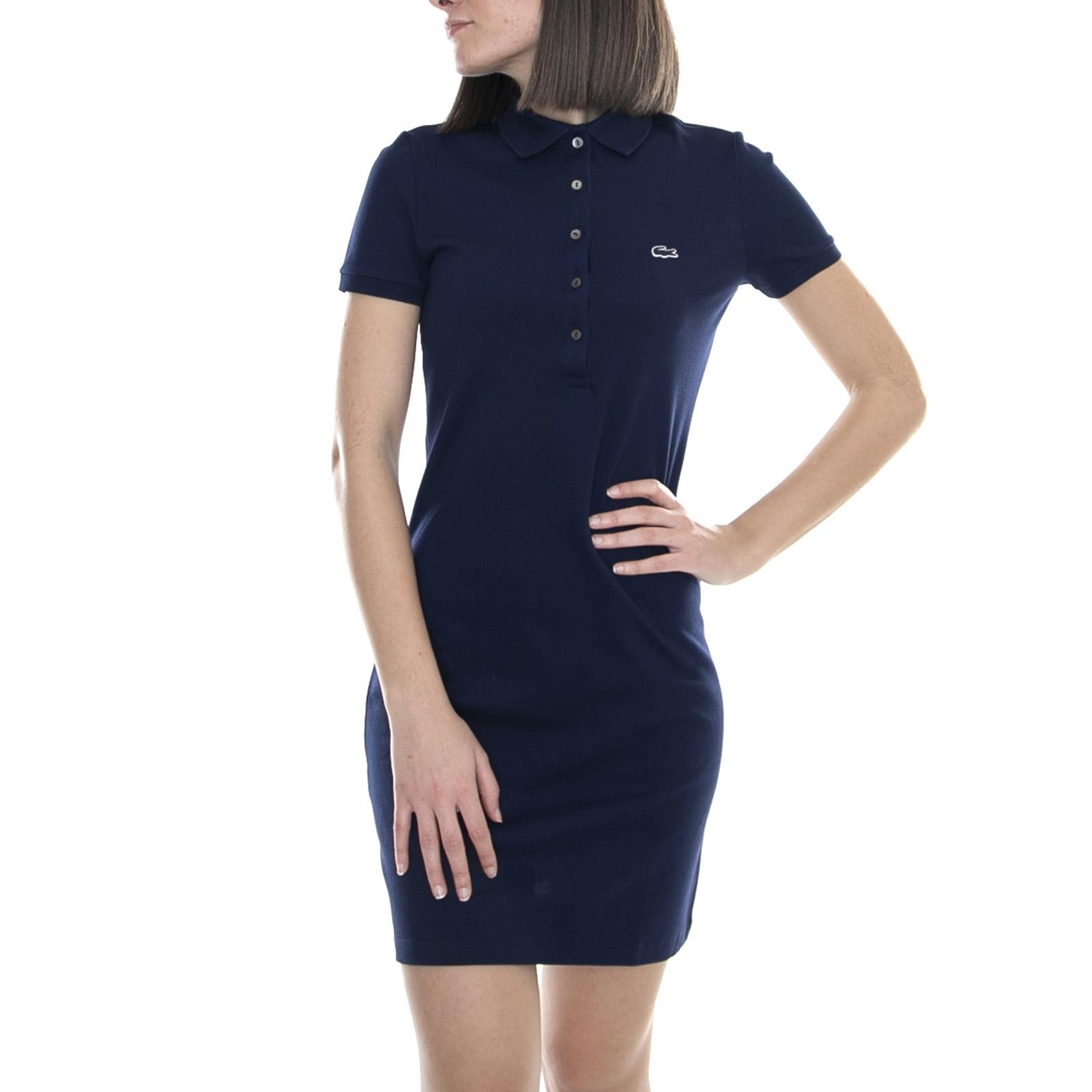 Bleu Vêtements Marine Lacoste Femme Polo Robe Costume MVqpSUz