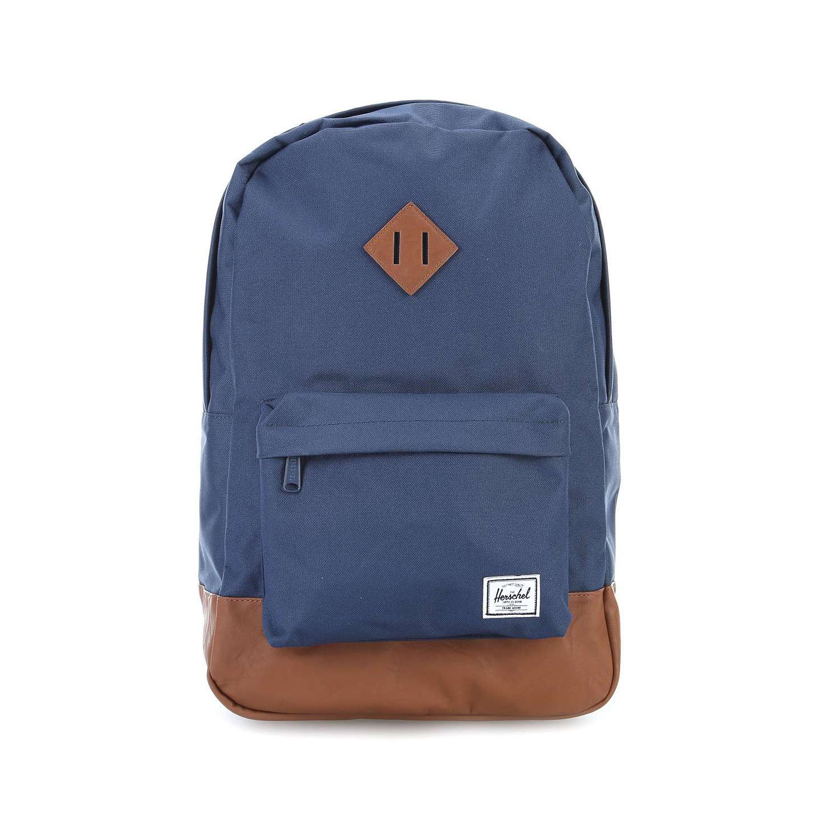 e877f1c2db8 Herschel Backpacks Heritage Classics Backpack Navy Blue
