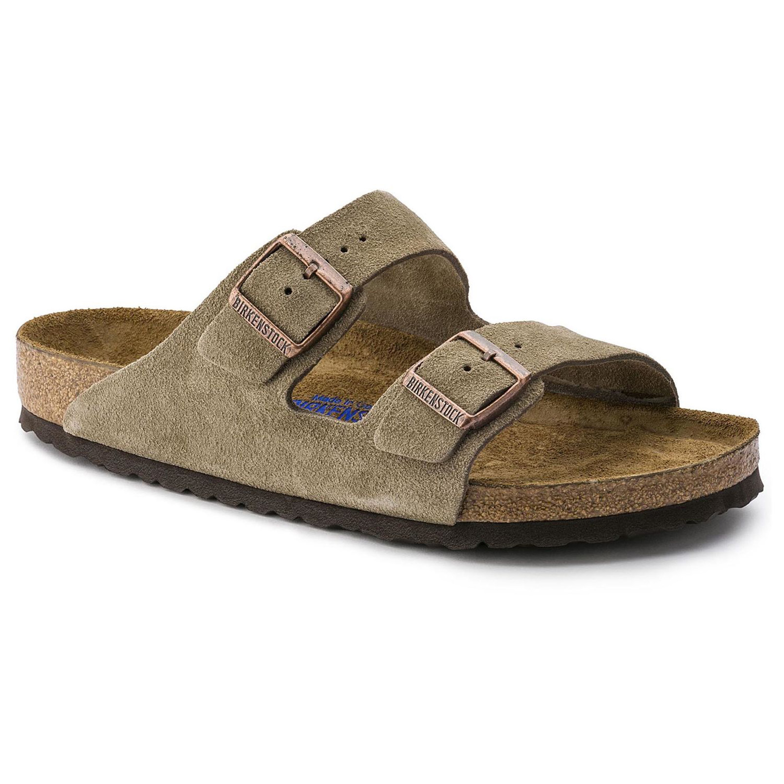 623c48055d Details about Birkenstock Arizona Soft Footbed Taupe Beige - Fit Narrow -  Sandals unisex