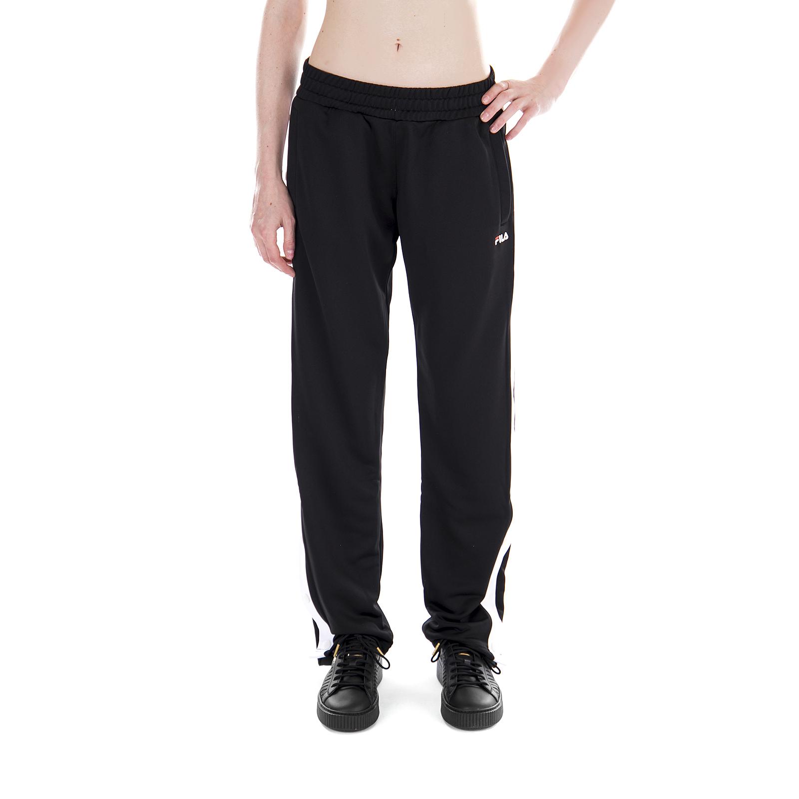 Fila Pantaloni Victoria Buttoned Track Pants nero Nero