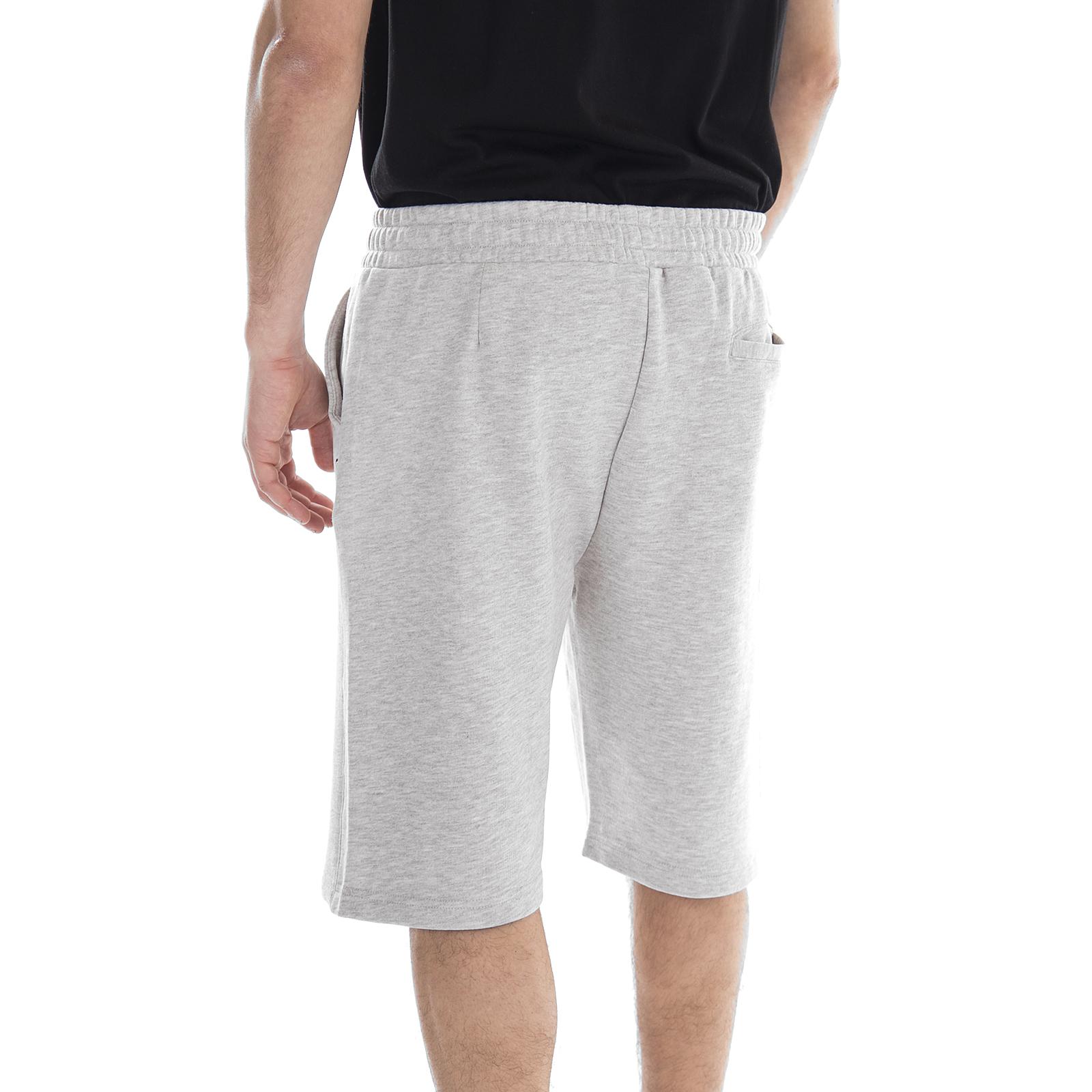 Bros Lichtgrijs Sweatshirts Shorts Cameron Sweat Melange Long Fila zTPqzw