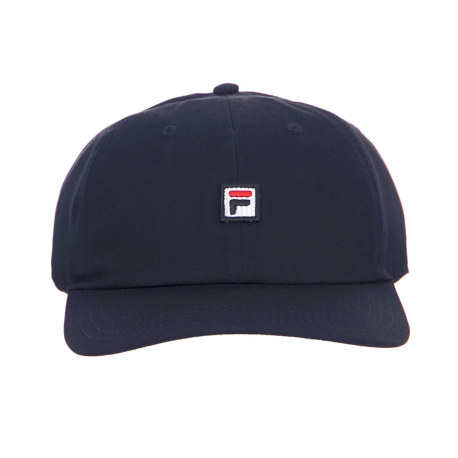 4a36ce2a Fila Hat Dad Cap Hat Strap Back Black Black Iris | eBay