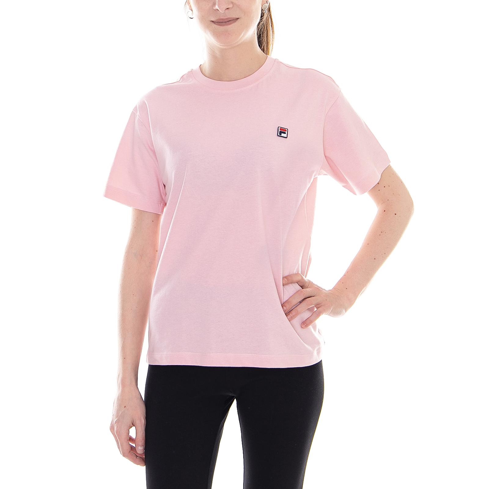 Details zu Fila T-Shirt Frauen NOVA beschnitten tee SS Koralle Blush rosa