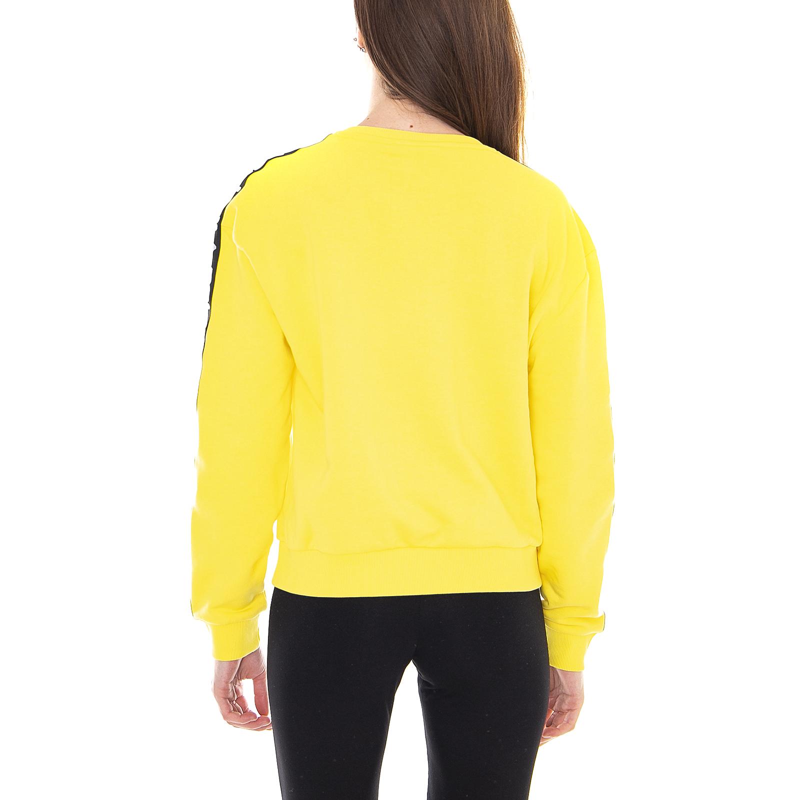 Tivka Sweat Fila Sweatshirts Vibrant Crew Women Ebay Yellow PrqTFIqExw