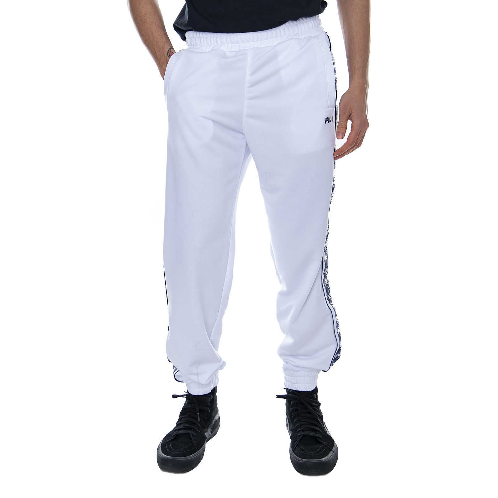 Details about Fila M Ralph Track White Men's Trousers White