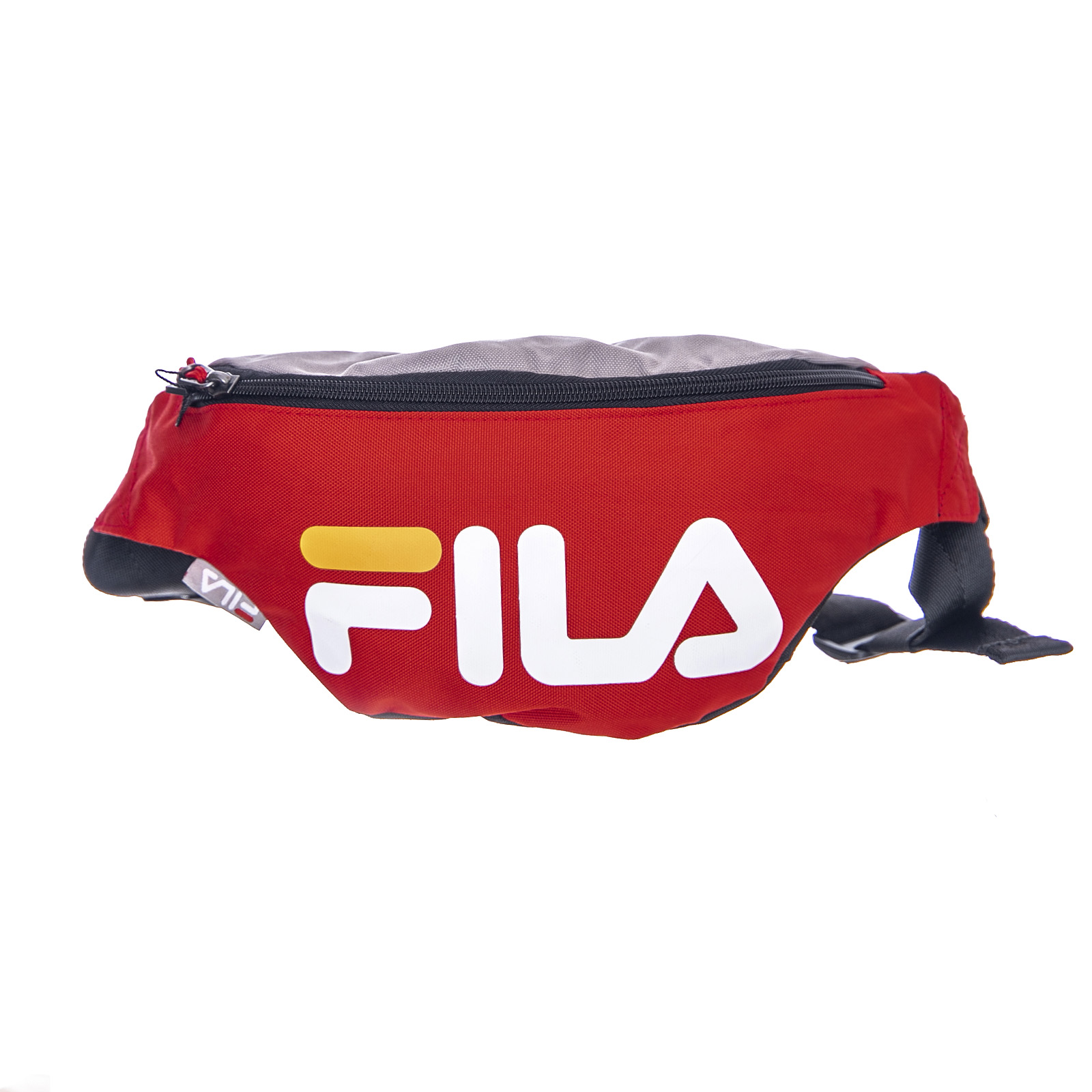 Dettagli su Fila Logo Waist Bag Slim - Blocing Fiery Red - Marsupio Rosso