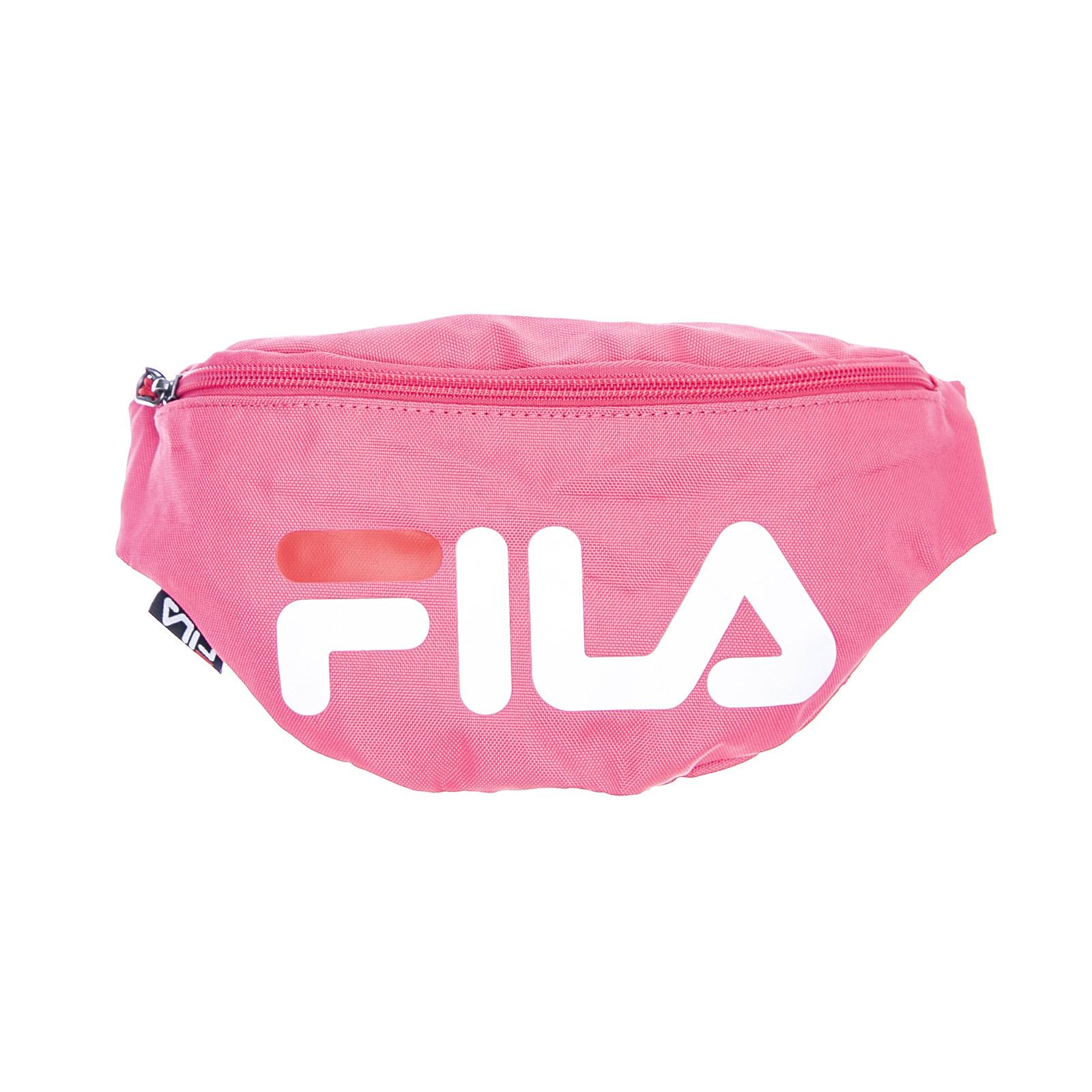 Dettagli su Fila Logo Waist Bag Slim - Pink - Marsupio Rosa