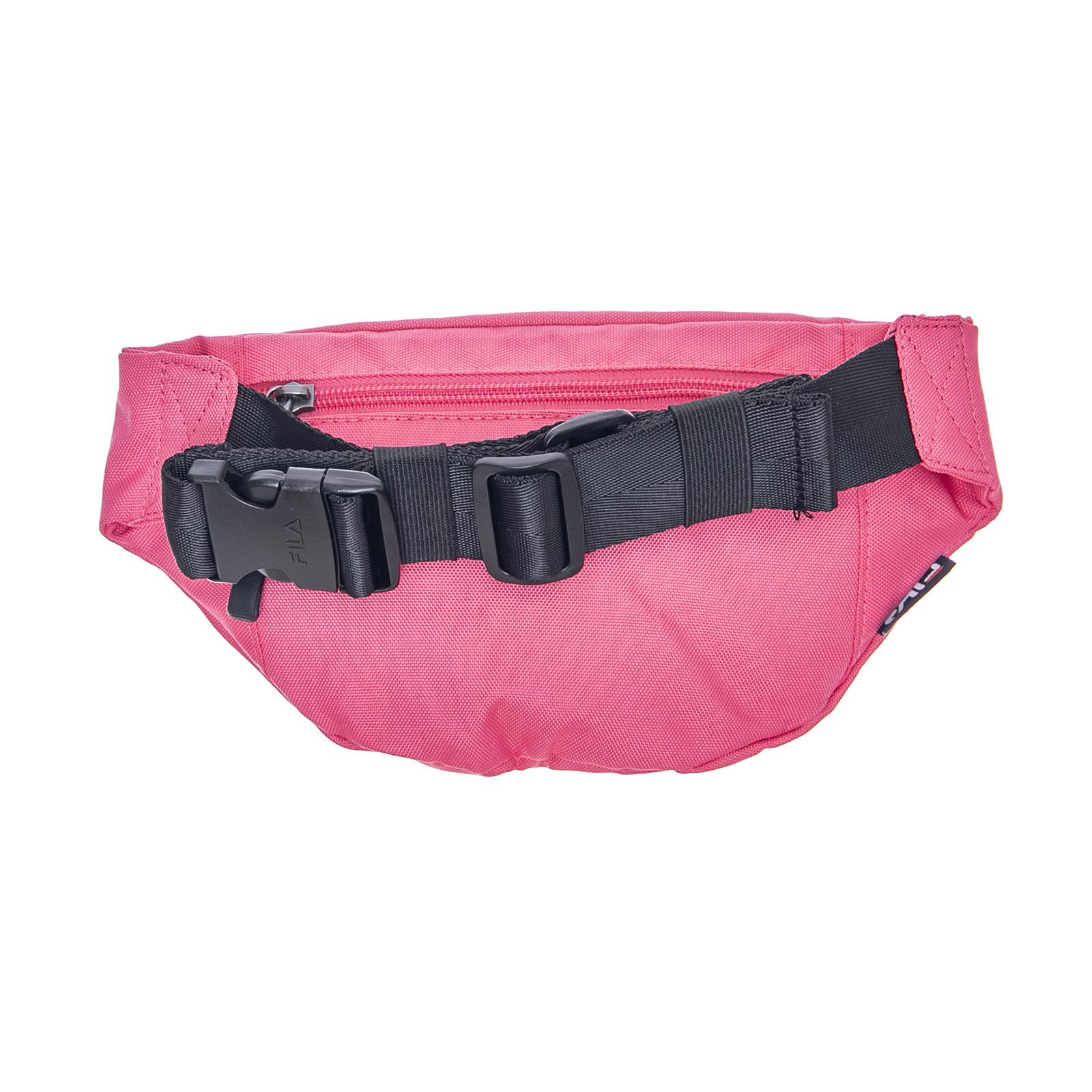 FILA LOGO WAIST Bag Slim - Pink - Marsupio Rosa