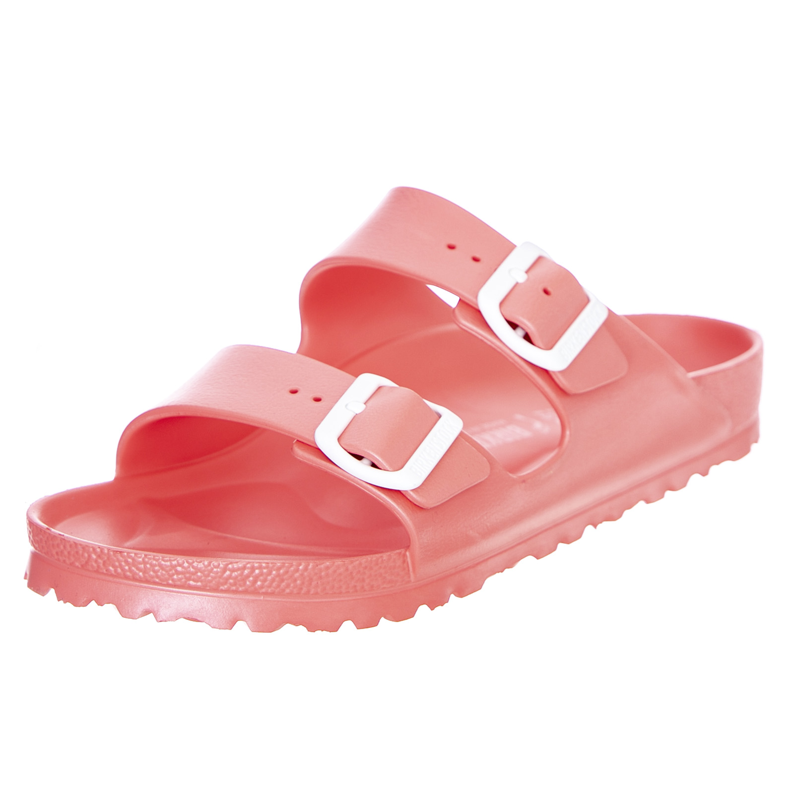 Details about Birkenstock Arizona Eva Soft Coral Ladies Sandals Fitting Narrow Pink