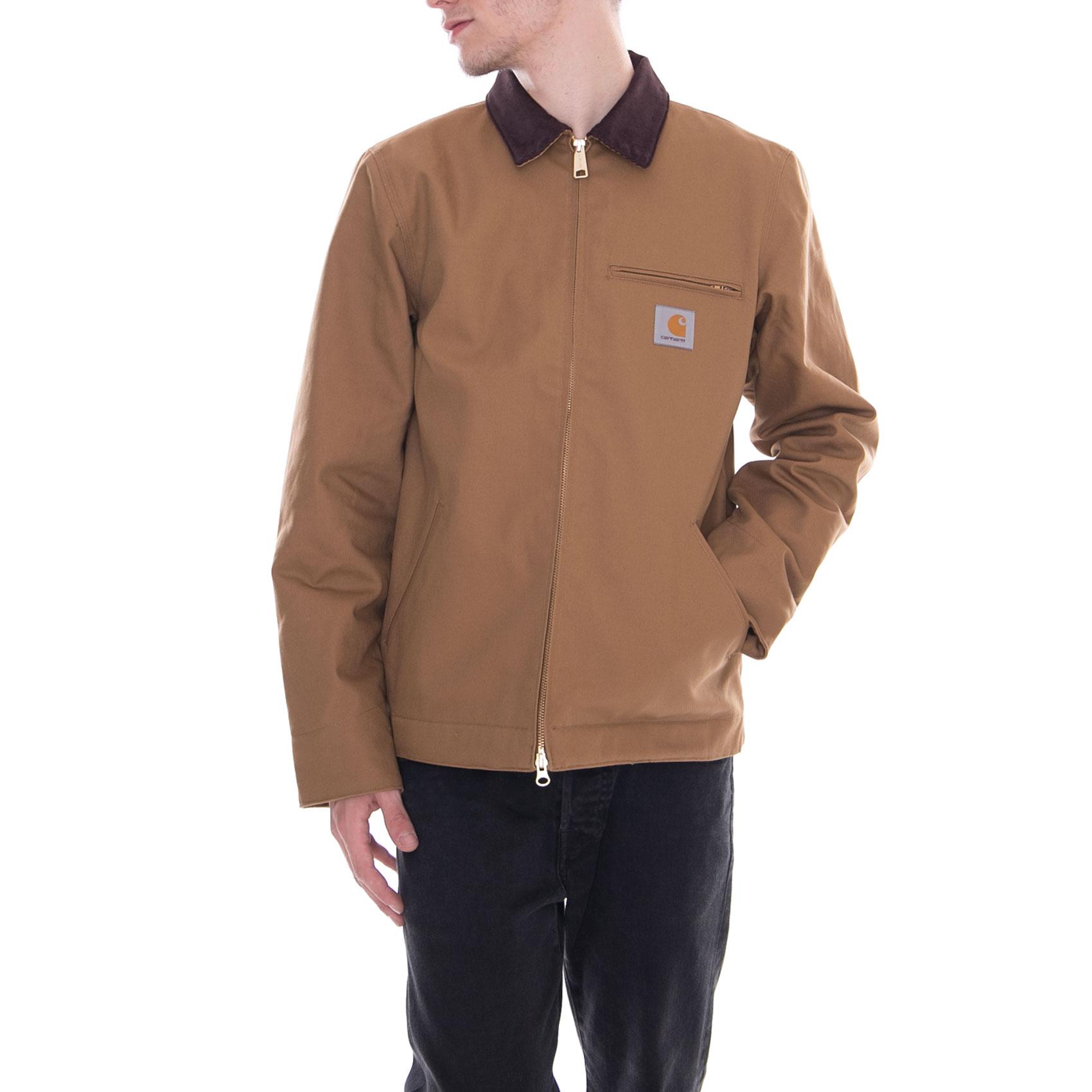 422d8ec1c27 Carhartt Jacket Detroit Jacket Hamilton Brown Brown | eBay