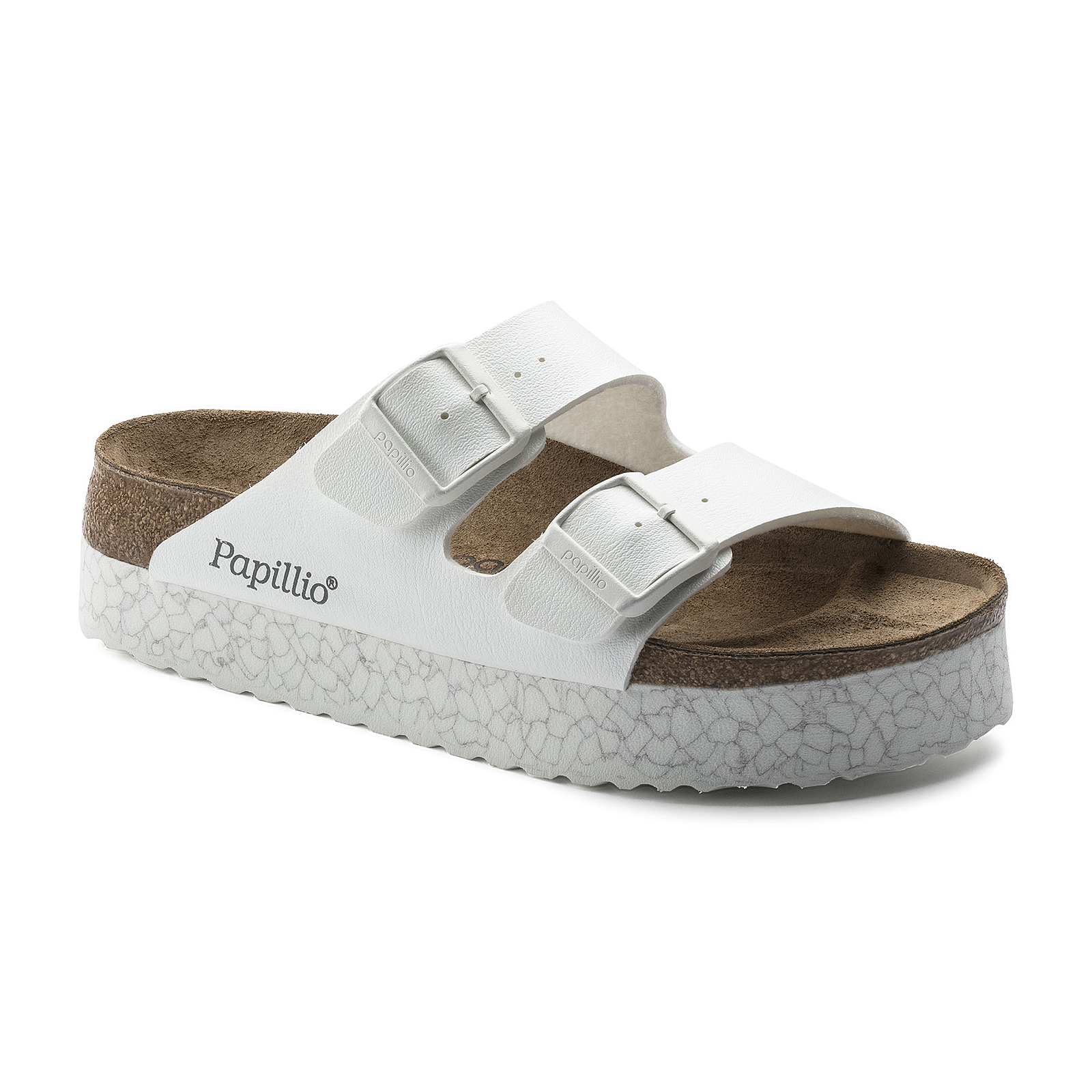 4a31e8d41e25 Birkenstock Sandals Arizona Monochrome Marble White