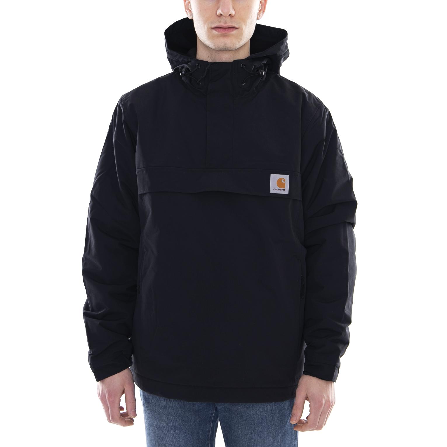 c143e38084 Carhartt Giacche Nimbus Pullover Black Nero